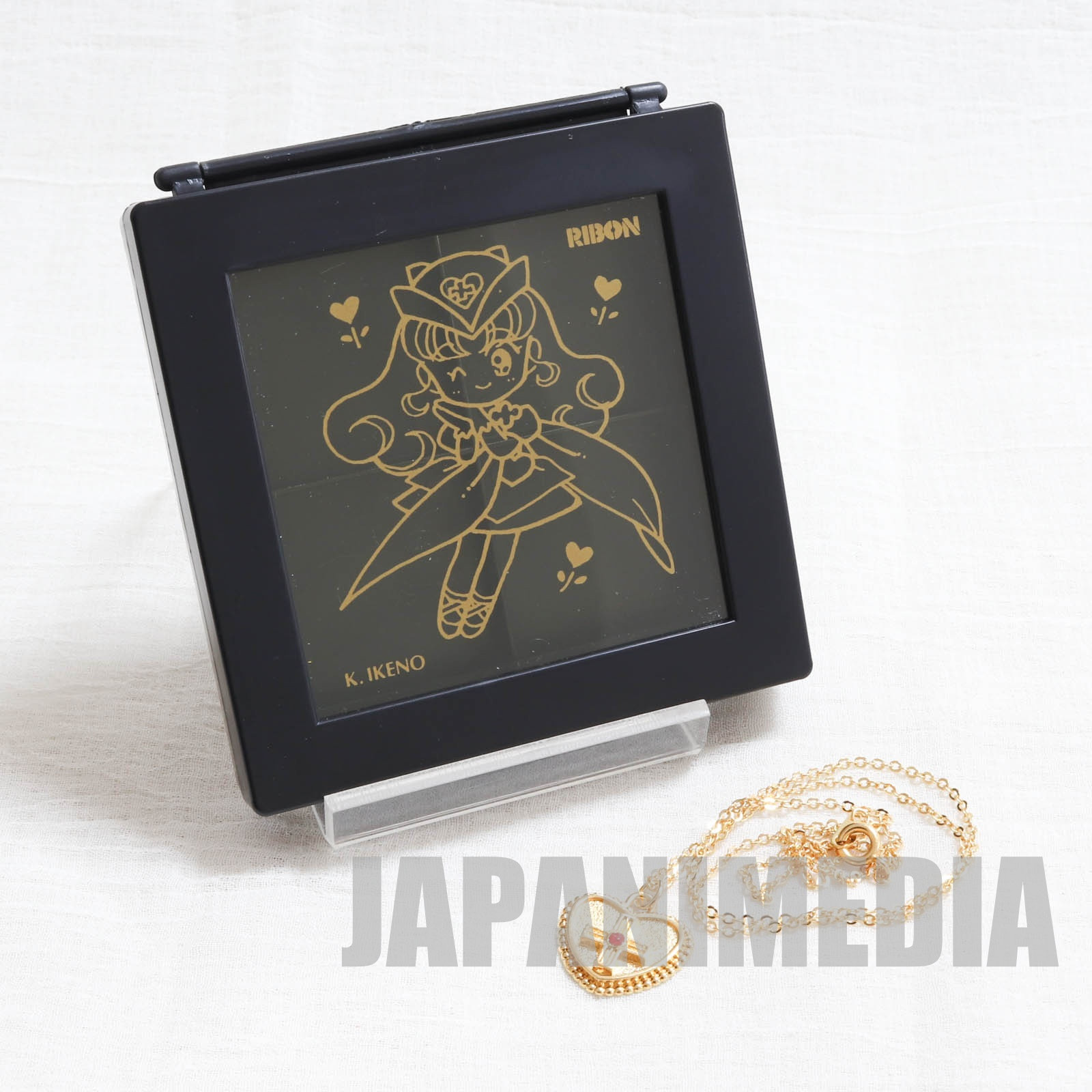 RARE! Nurse Angel Ririka SOS Nurse Angel (Ririka Moriya) Accessory case & Necklace JAPAN MANGA