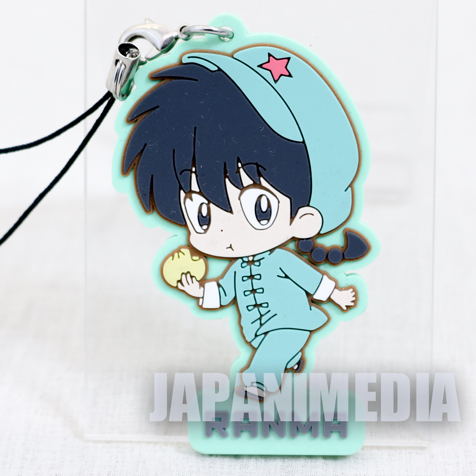 Ranma 1/2 Male Ranma Saotome #1 Mascot Rubber Strap JAPAN ANIME MANGA