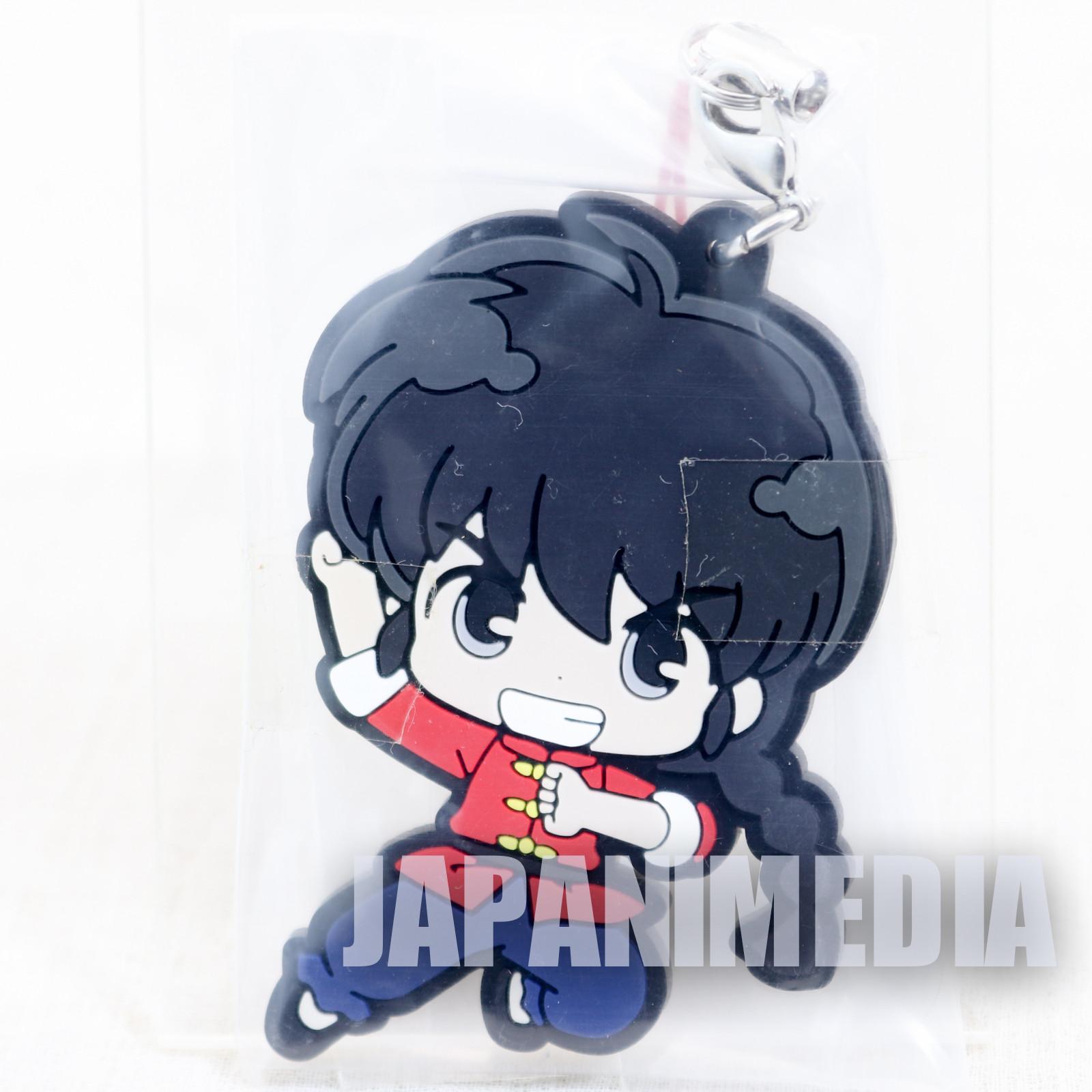 Ranma 1/2 Male Ranma Saotome #3 Mascot Rubber Strap JAPAN ANIME MANGA