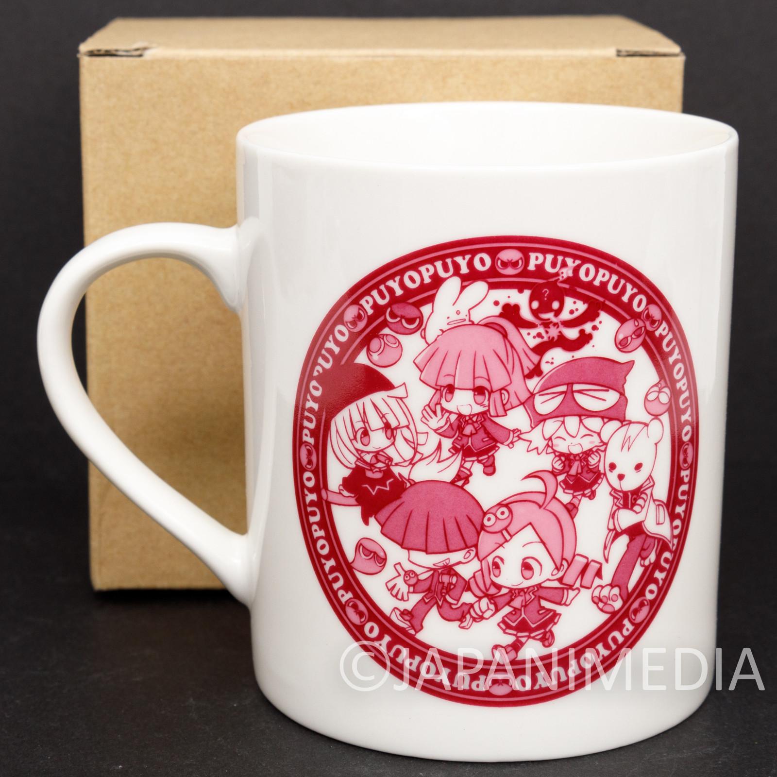 PUYO PUYO Mug Red ver. JAPAN GAME SEGA