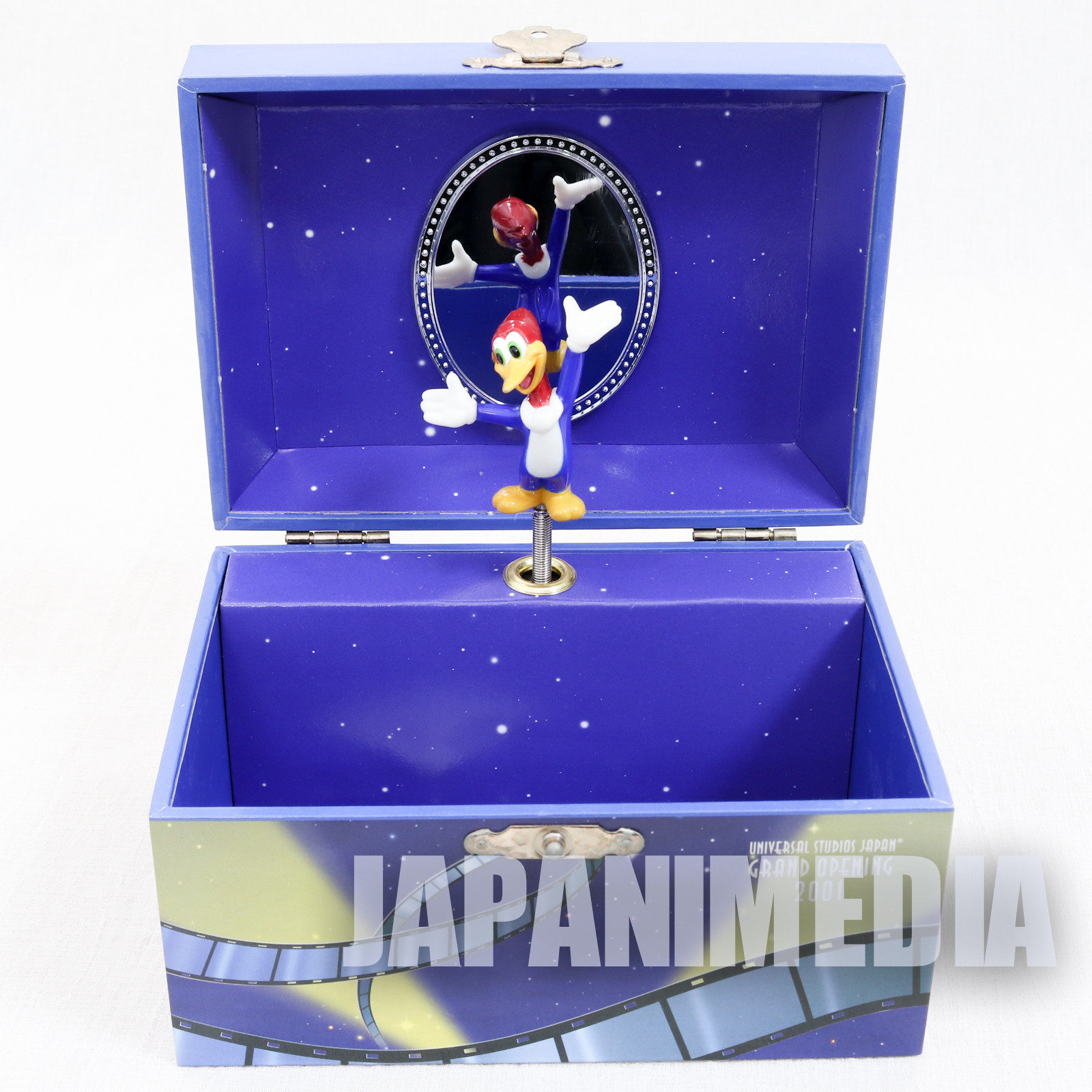 Woody Woodpecker USJ Music Box Accessories Case Song US National Anthem