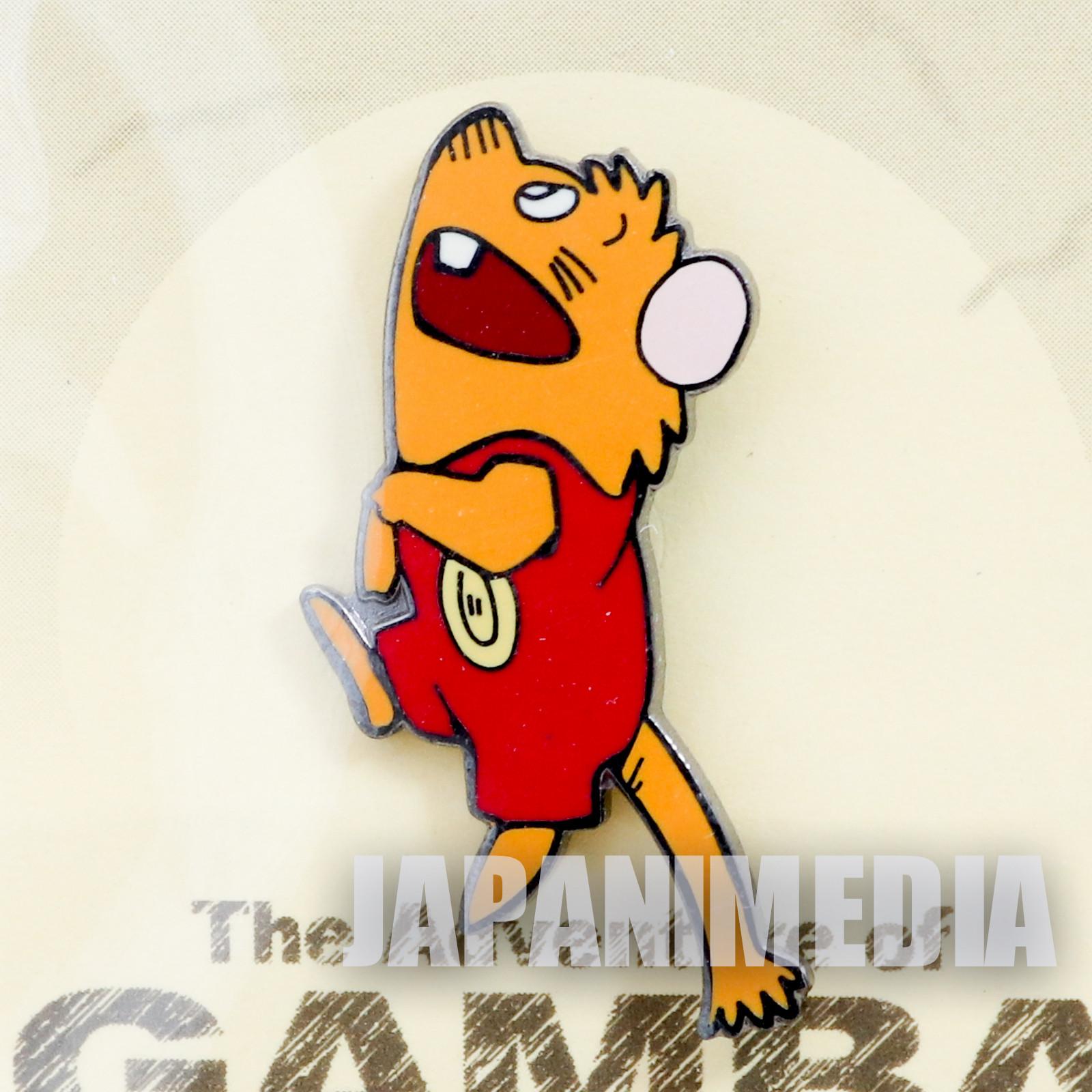 RARE! Gamba no Boken Gamba Metal Pins JAPAN ANIME MANGA