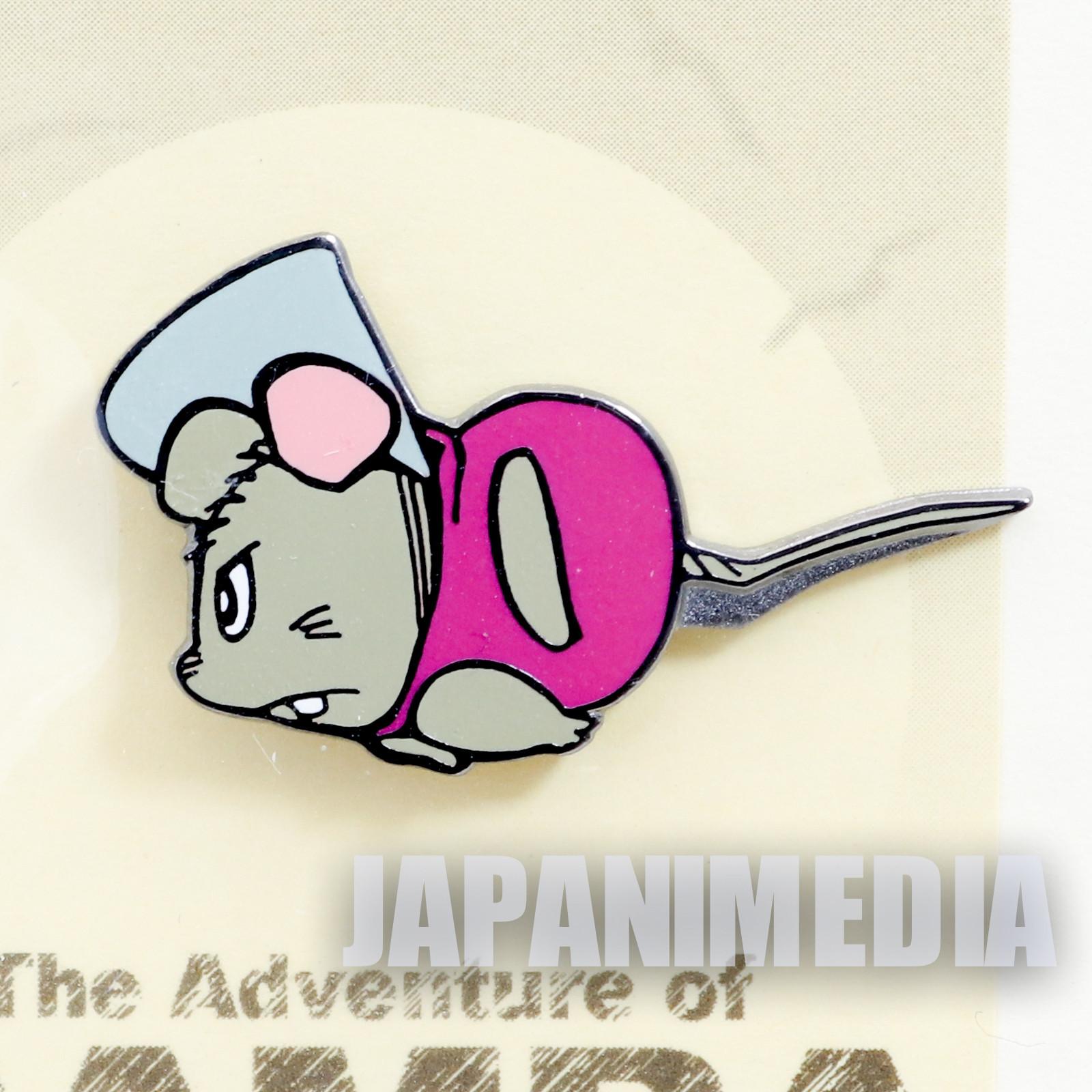 RARE! Gamba no Boken Chuta Metal Pins JAPAN ANIME MANGA
