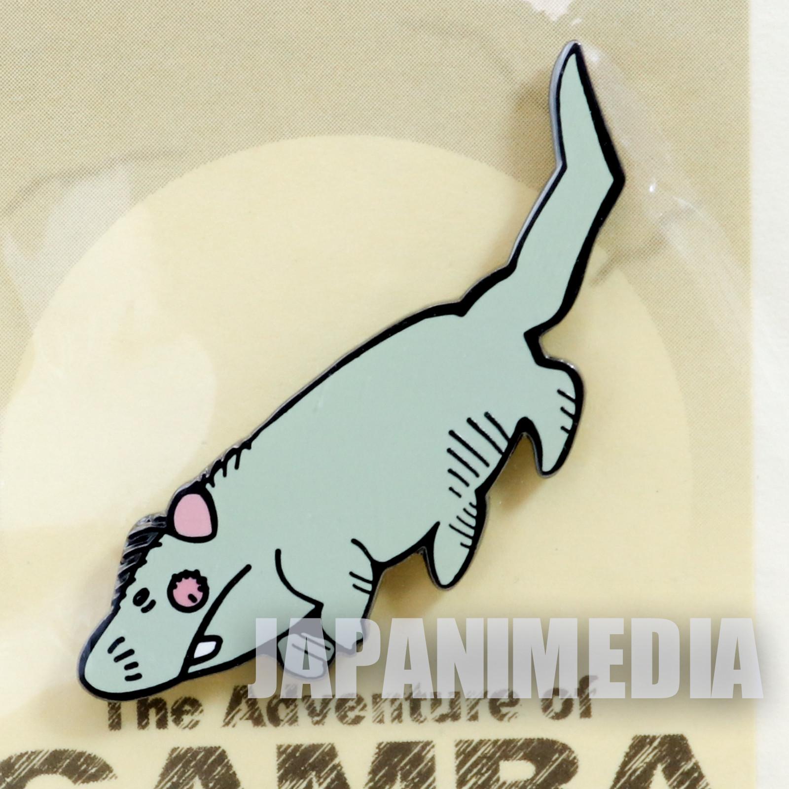 RARE! Gamba no Boken Bobo Metal Pins JAPAN ANIME MANGA
