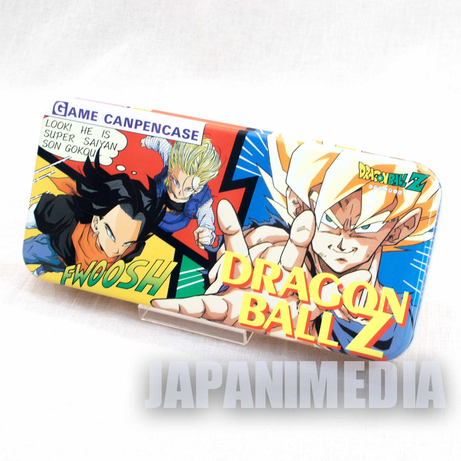 Dragon Ball Z Can Pen Case w/ Mini Game JAPAN ANIME MANGA 3