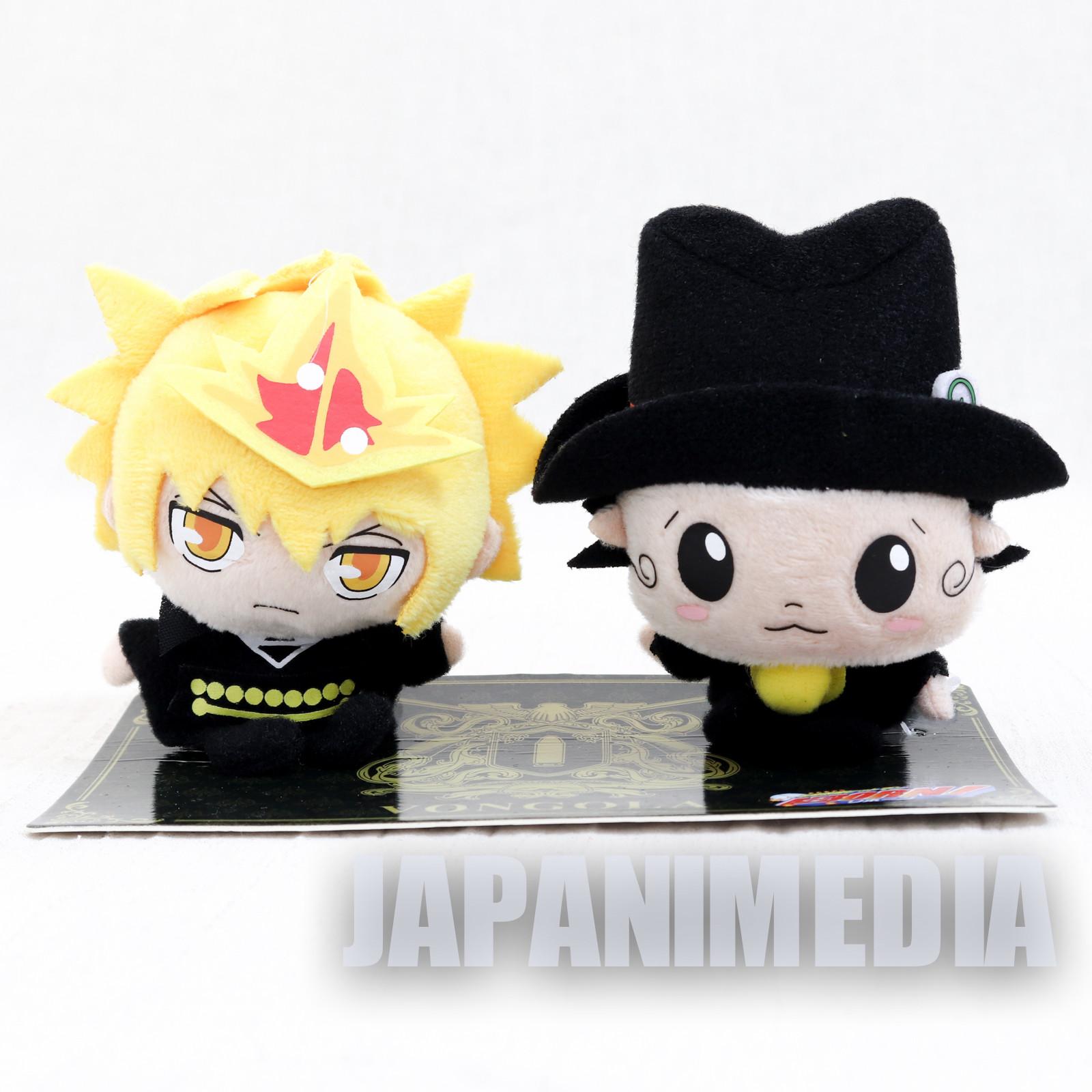 Katekyo Hitman Reborn Primo & Reborn WJ 50th Anniversary Plush doll set  JAPAN MANGA