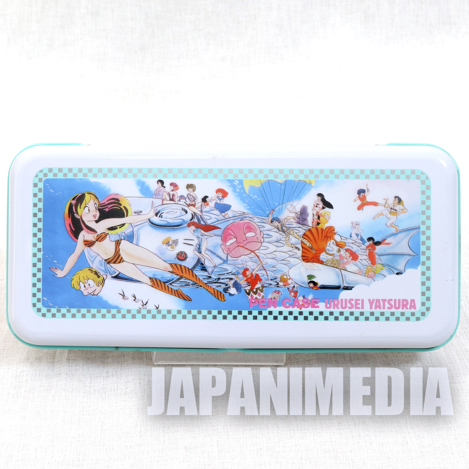 Retro RARE Urusei Yatsura Pen Case LUM JAPAN ANIME MANGA 10