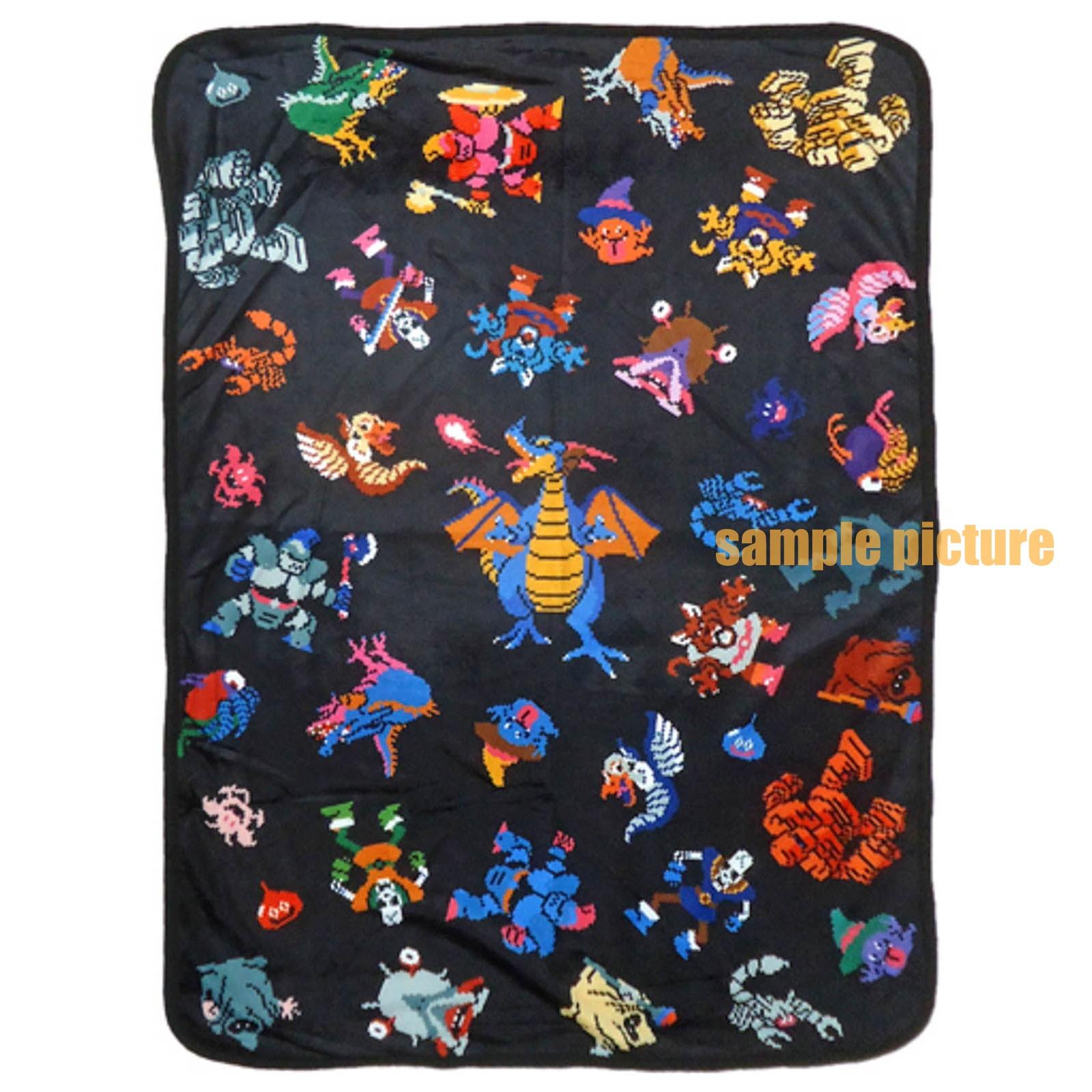 Dragon Quest Dot Monsters blanket 100x70cm Square Enix JAPAN GAME