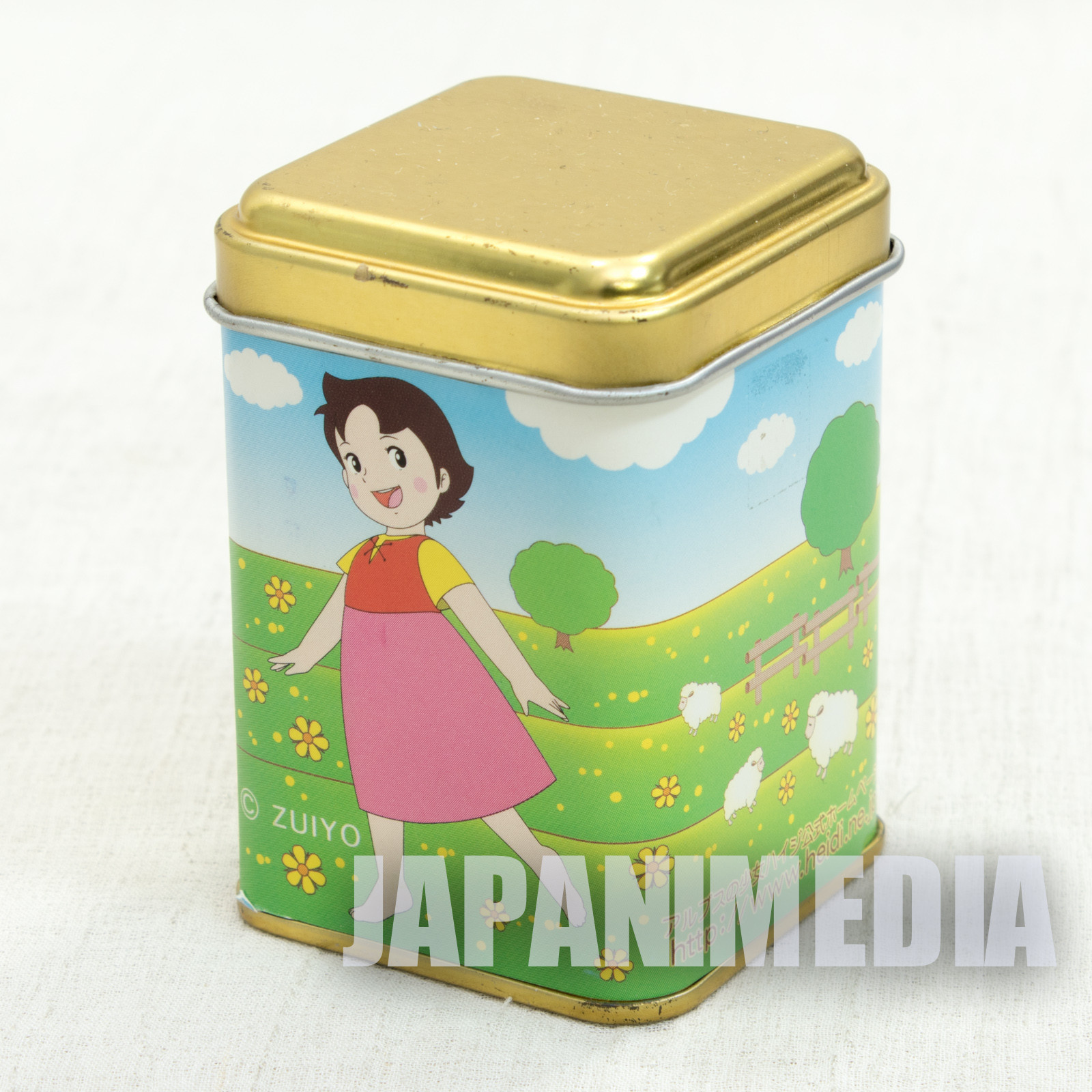 Heidi Girl of the Alps Mini Can case [Heidi / Yuki] JAPAN ANIME