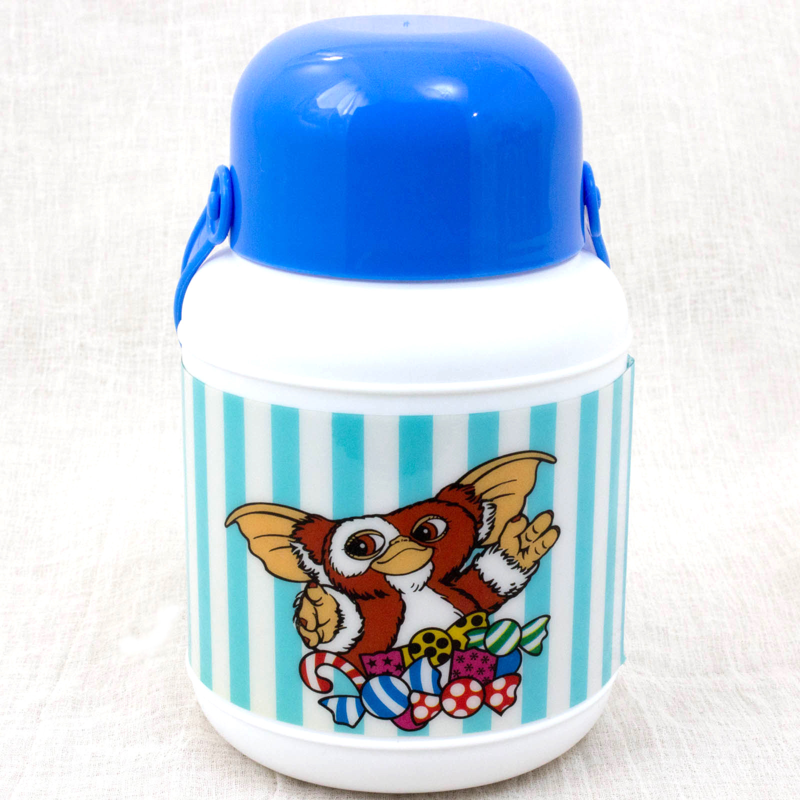 Retro RARE Gremlins 2 The New Batch Gizmo Plastic Water Bottle 420ml JAPAN