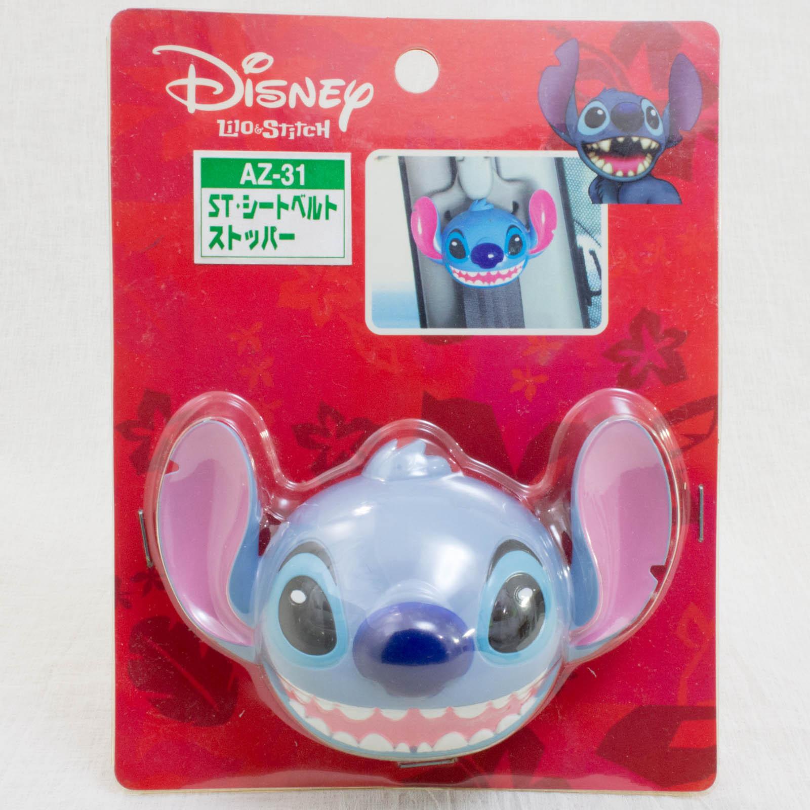 Disney Stitch Seat Belt Stopper JAPAN