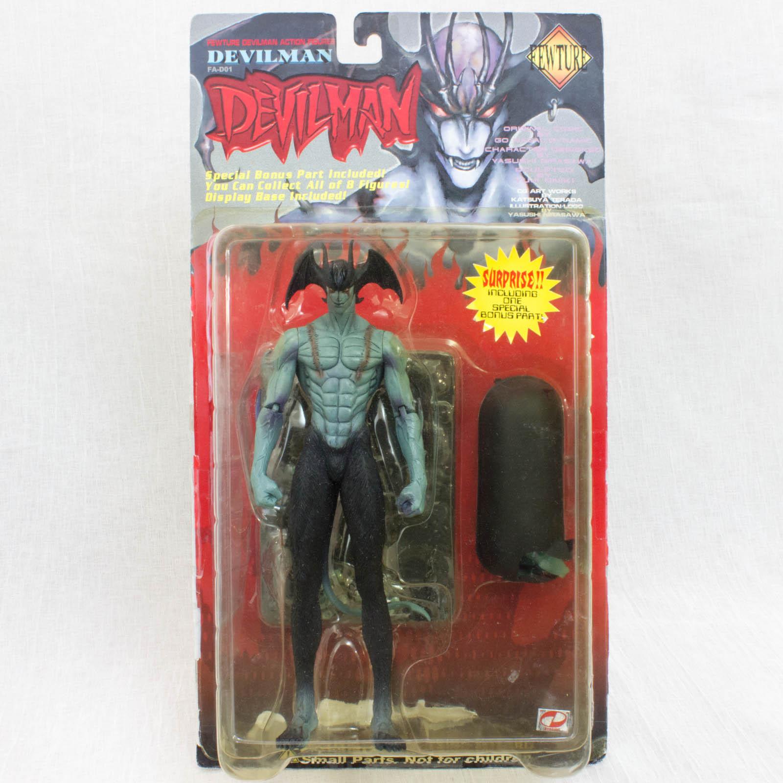 Devilman Action Figure Fewture Nagai Go JAPAN ANIME MANGA