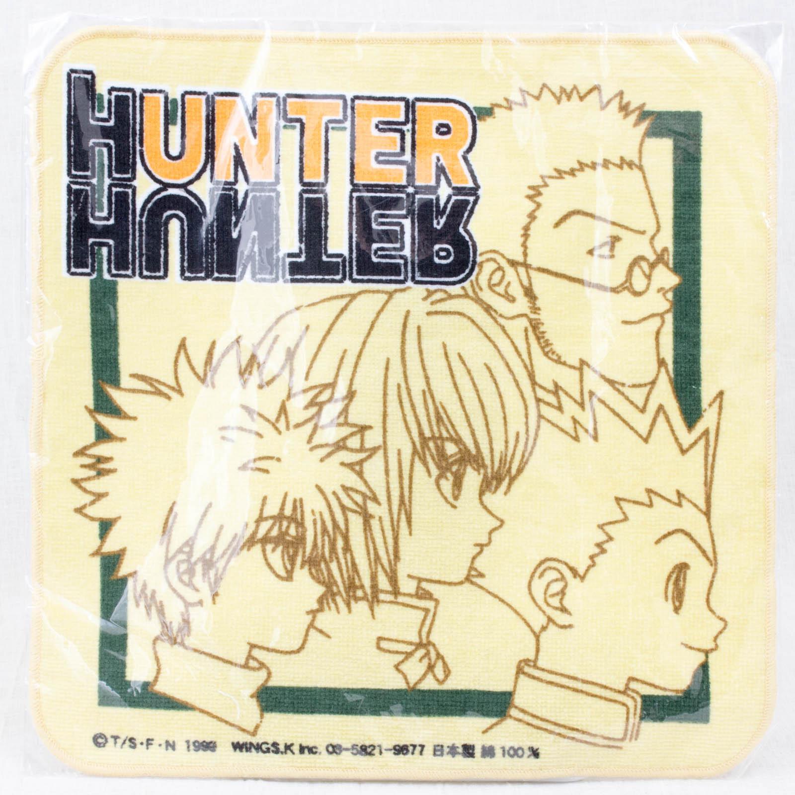 HUNTER x HUNTER Hand Towel Gon Killua Curarpikt Leorio JAPAN MANGA