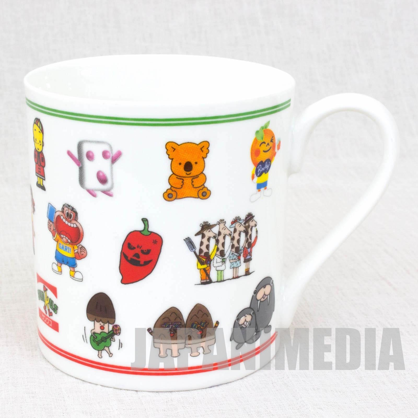RARE!! Family mart x Circle K Sunks Company Character's Mug JAPAN
