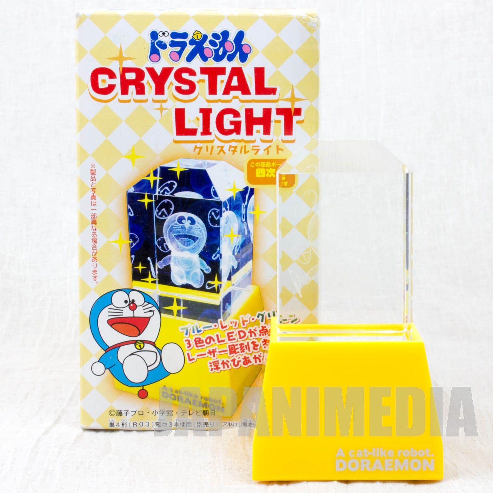 RARE!! Doraemon Crystal Decoration LED Light Fourth dimension ver. ANIME JAPAN