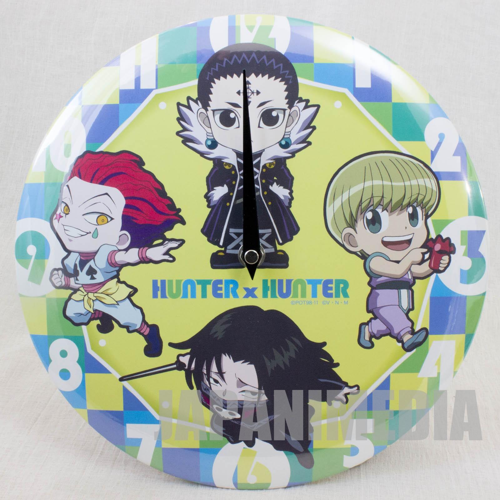 RARE HUNTER x HUNTER Wall Clock Trupe Fantasma Hisoka Kuroro Feitan Shalnark