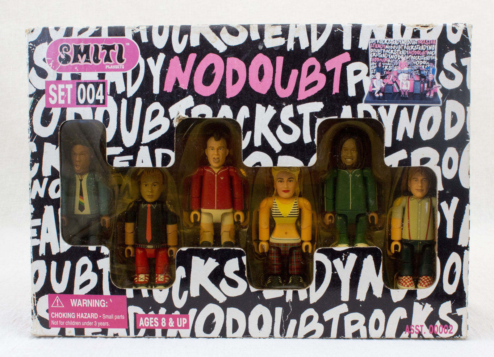 No Doubt SMITI Action Figure Band Concert Play Set 004