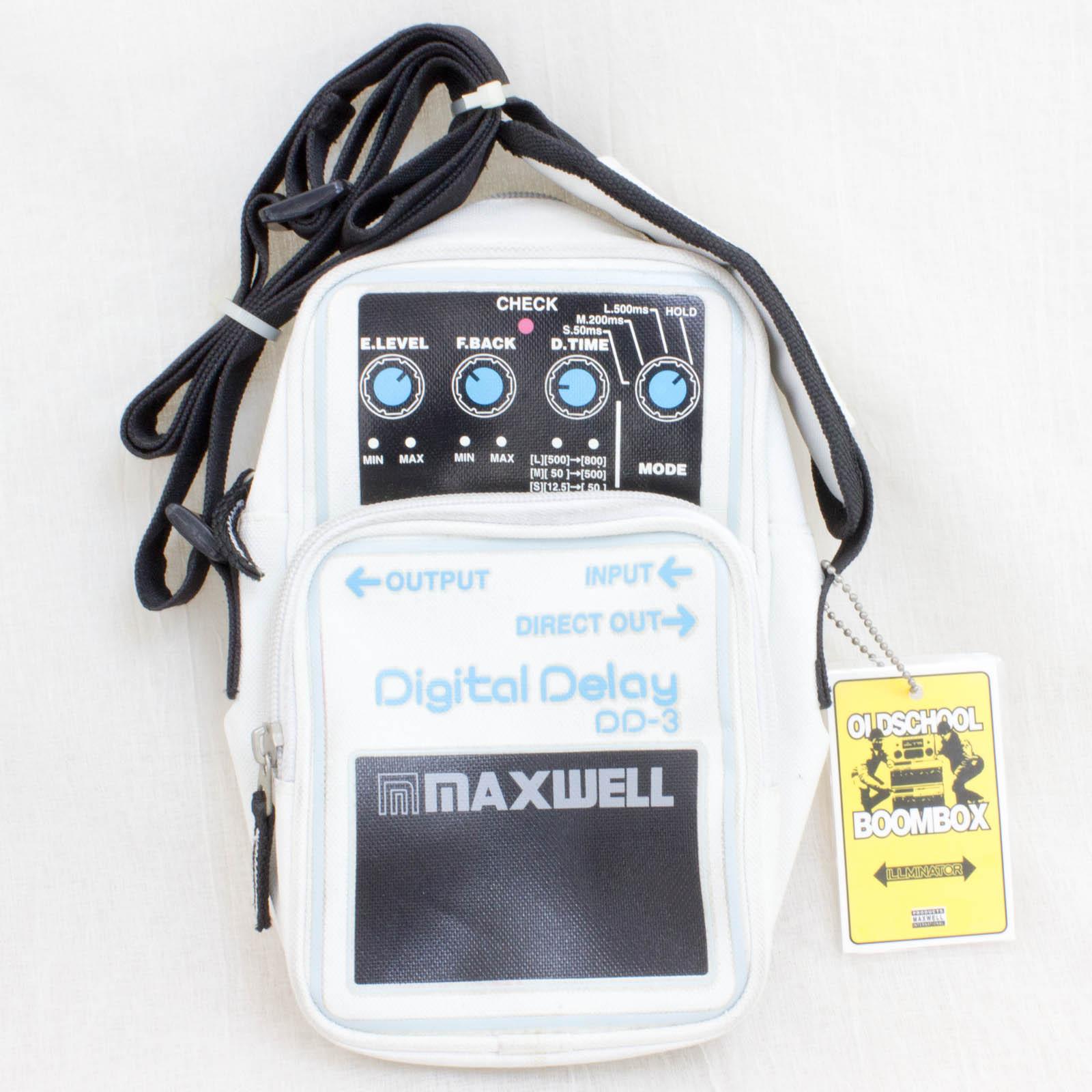 RARE! BOSS Digital Delay DD-3 Type Shoulder Bag 9x5 inch MAXWELL ILLUMINATOR