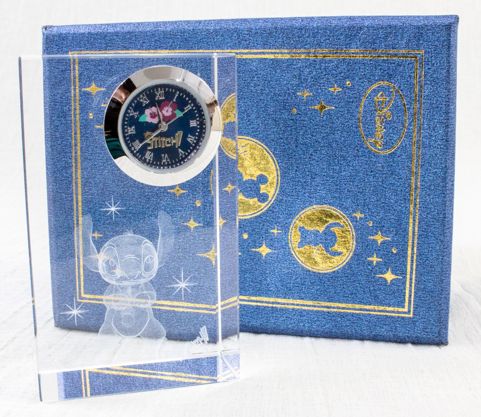 Disney Stitch Crystal Clock SEGA JAPAN