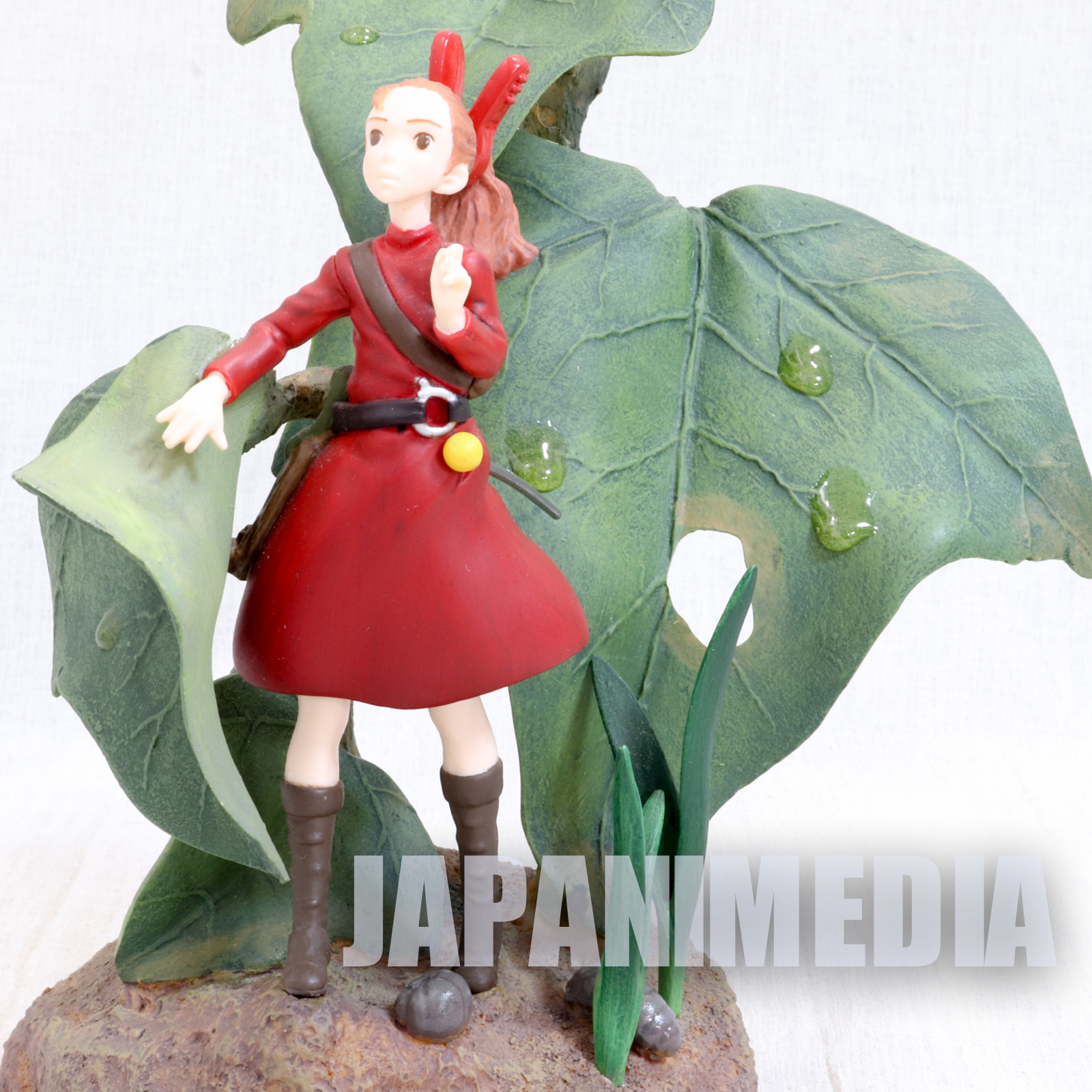 {Damaged} The Secret World of Arrietty Polystone Figure 1/1 Scale Ghibli JAPAN