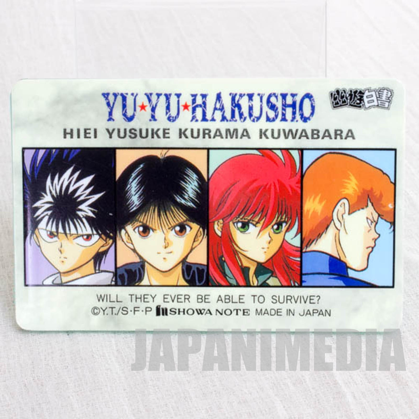 Yu Yu Hakusho Mechanical pencil's lead case (Case only) JAPAN ANIME