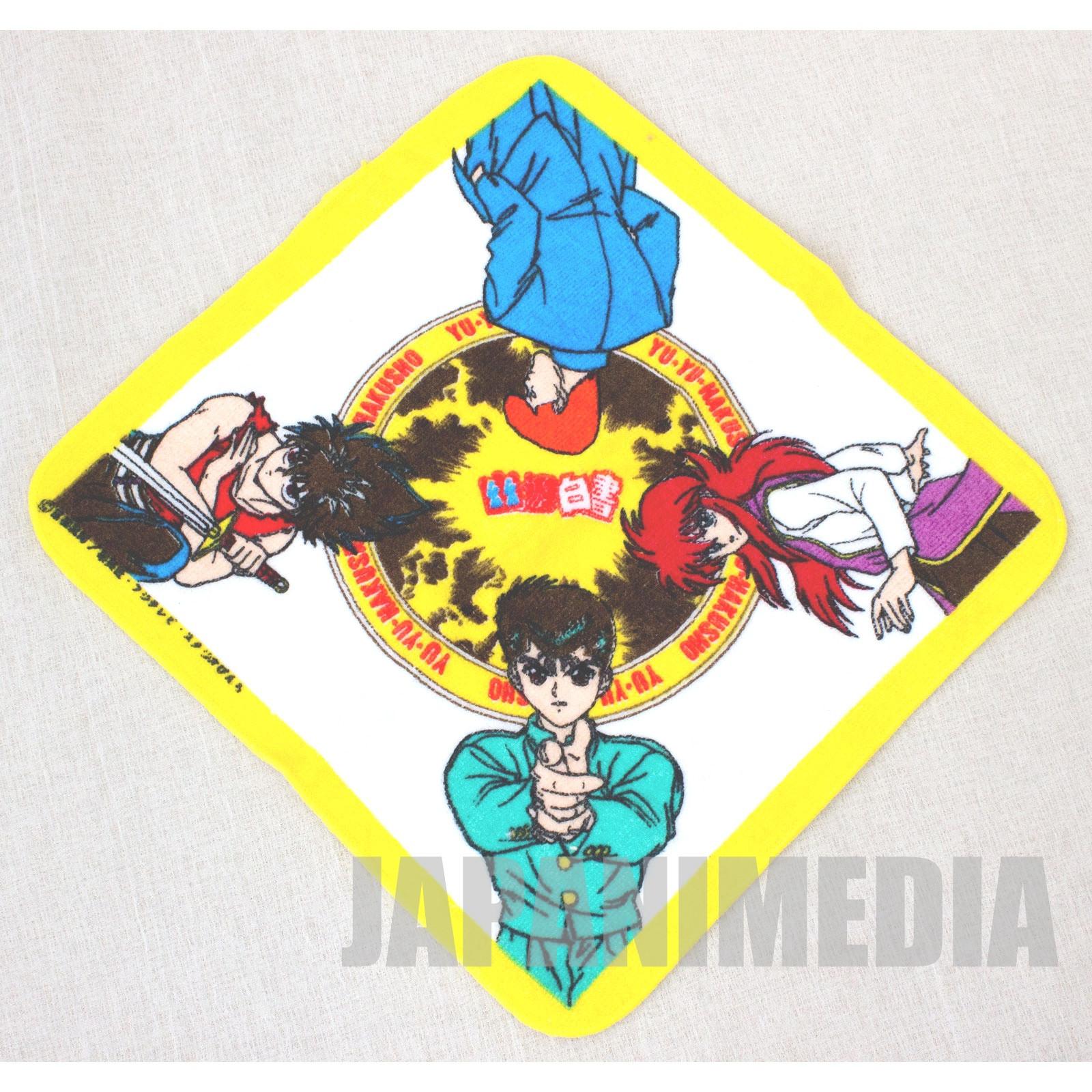 Yu Yu Hakusho Mini Towel [Yusuke / Kuwabara / Kurama / Hiei] JAPAN ANIME