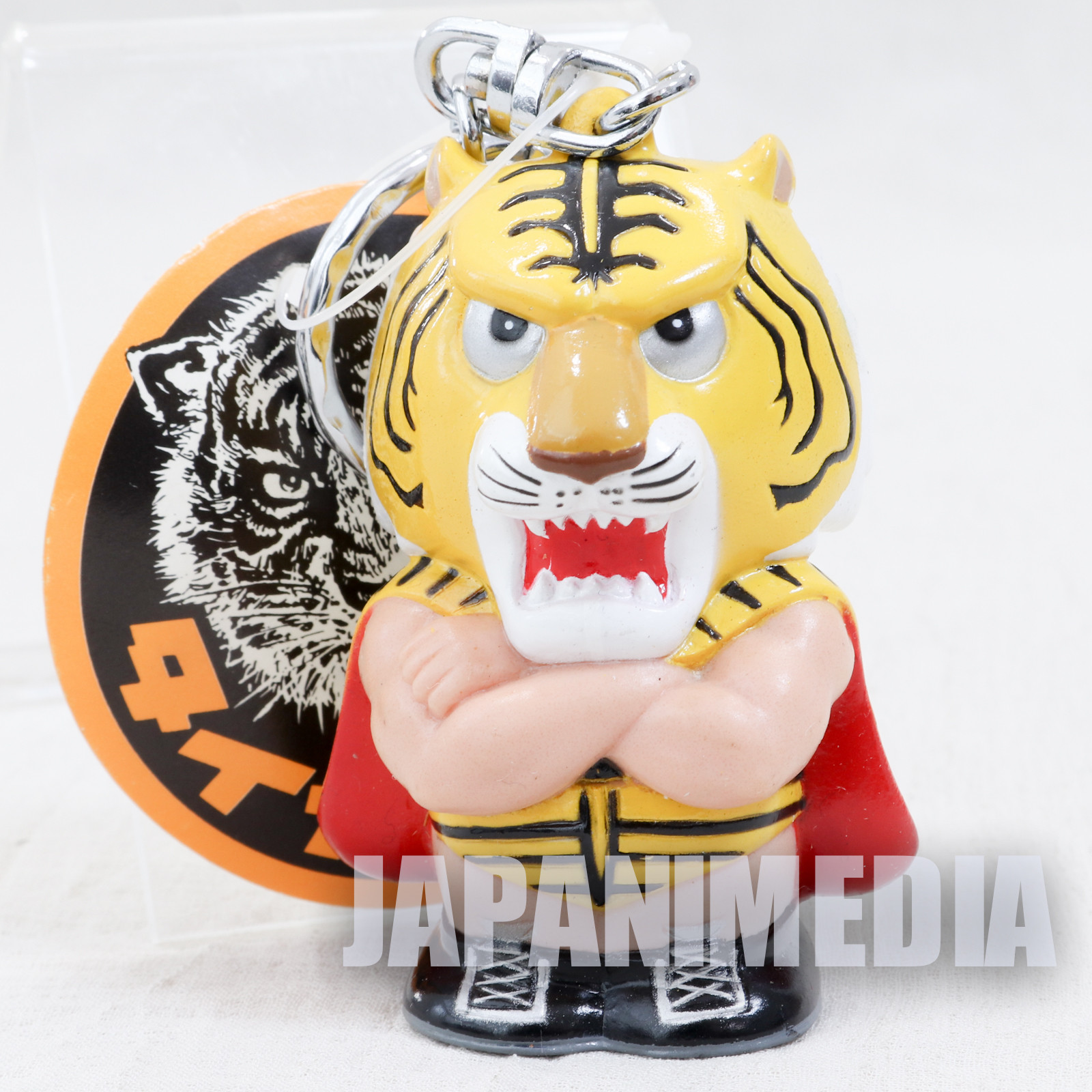 Tiger Mask Mascot Figure Key Chain JAPAN ANIME MANGA Pro Wrestling
