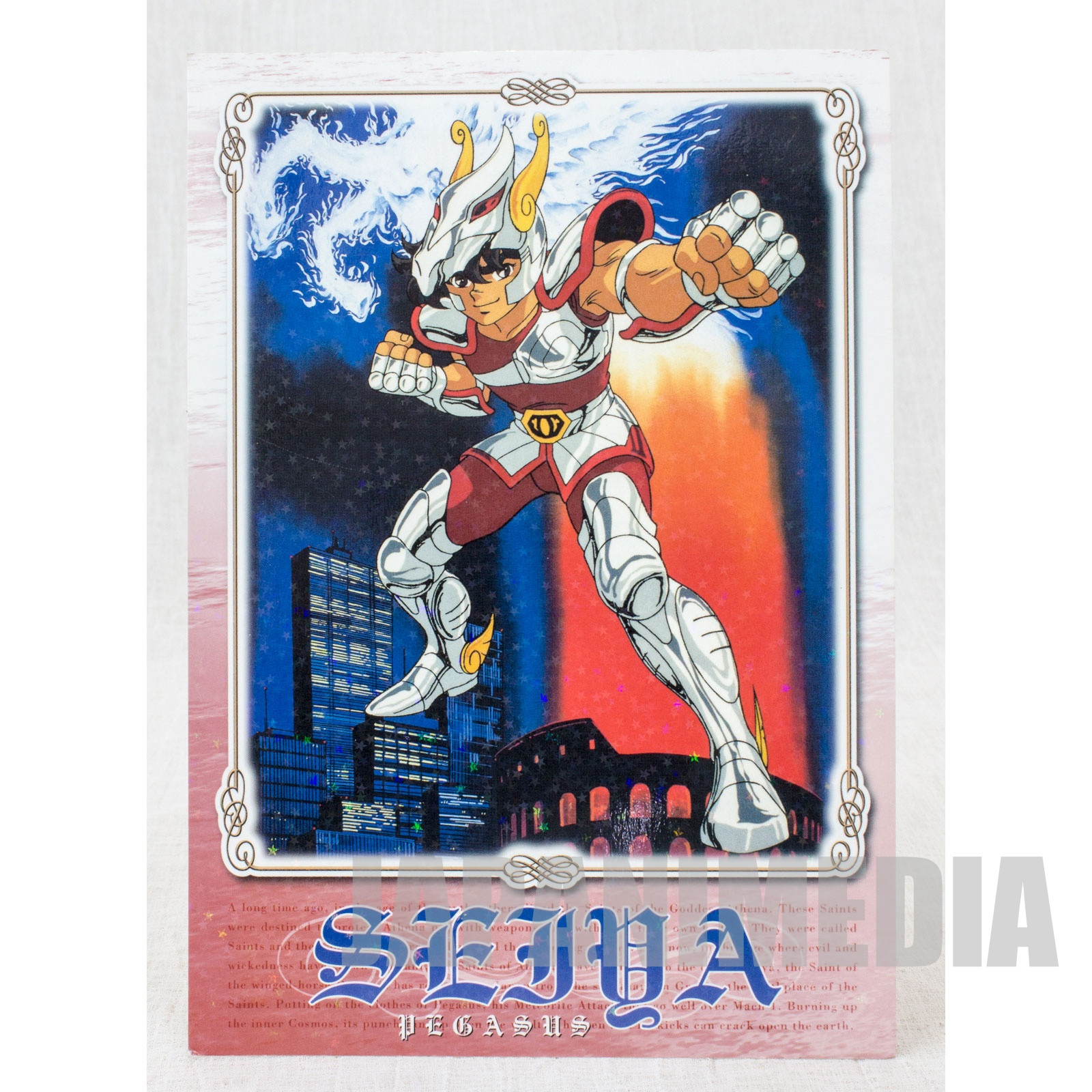 Saint Seiya Big Post card JAPAN ANIME MANGA