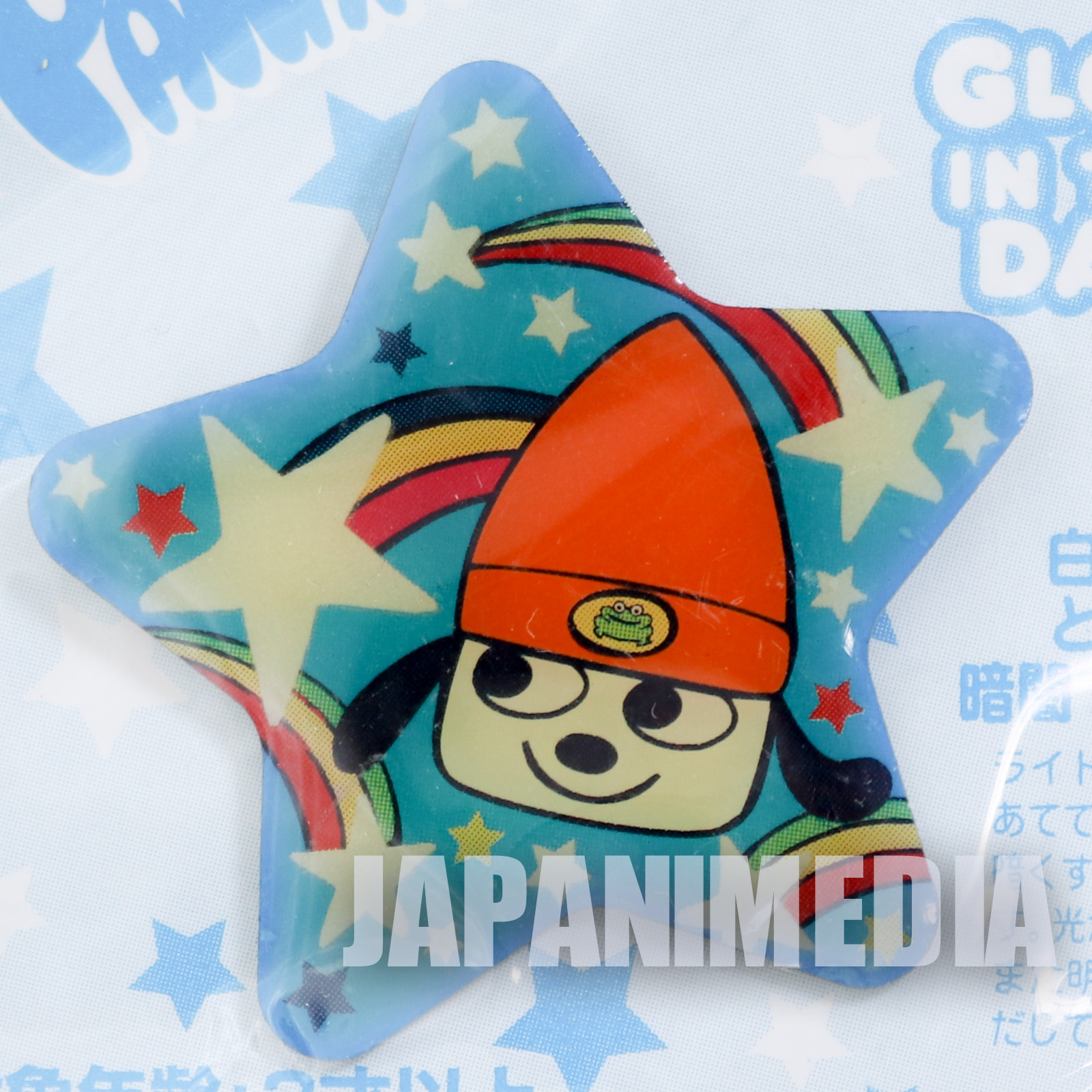 Parappa The Rapper Metal Pins Grow in the Dark! JAPAN ANIME GAME SONY