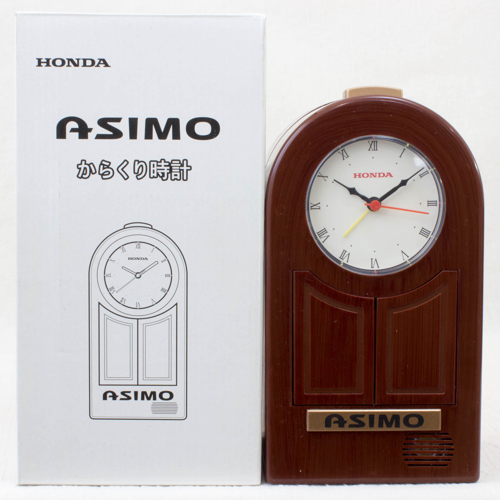 RARE! HONDA Asimo Automaton Marionette Alarm Clock JAPAN
