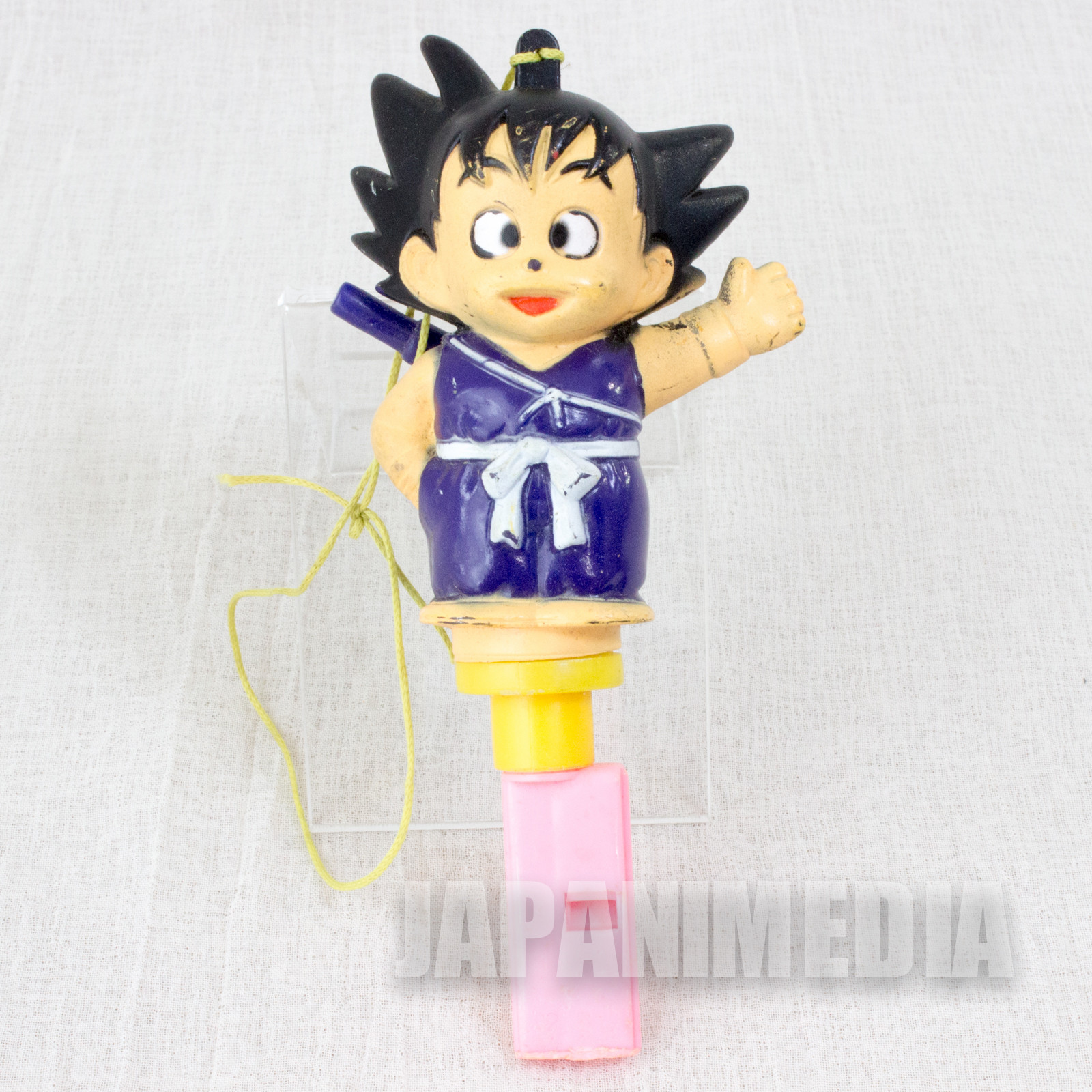 Retro RARE!! Dragon Ball Son Gokou Figure Whistle JAPAN ANIME MANGA