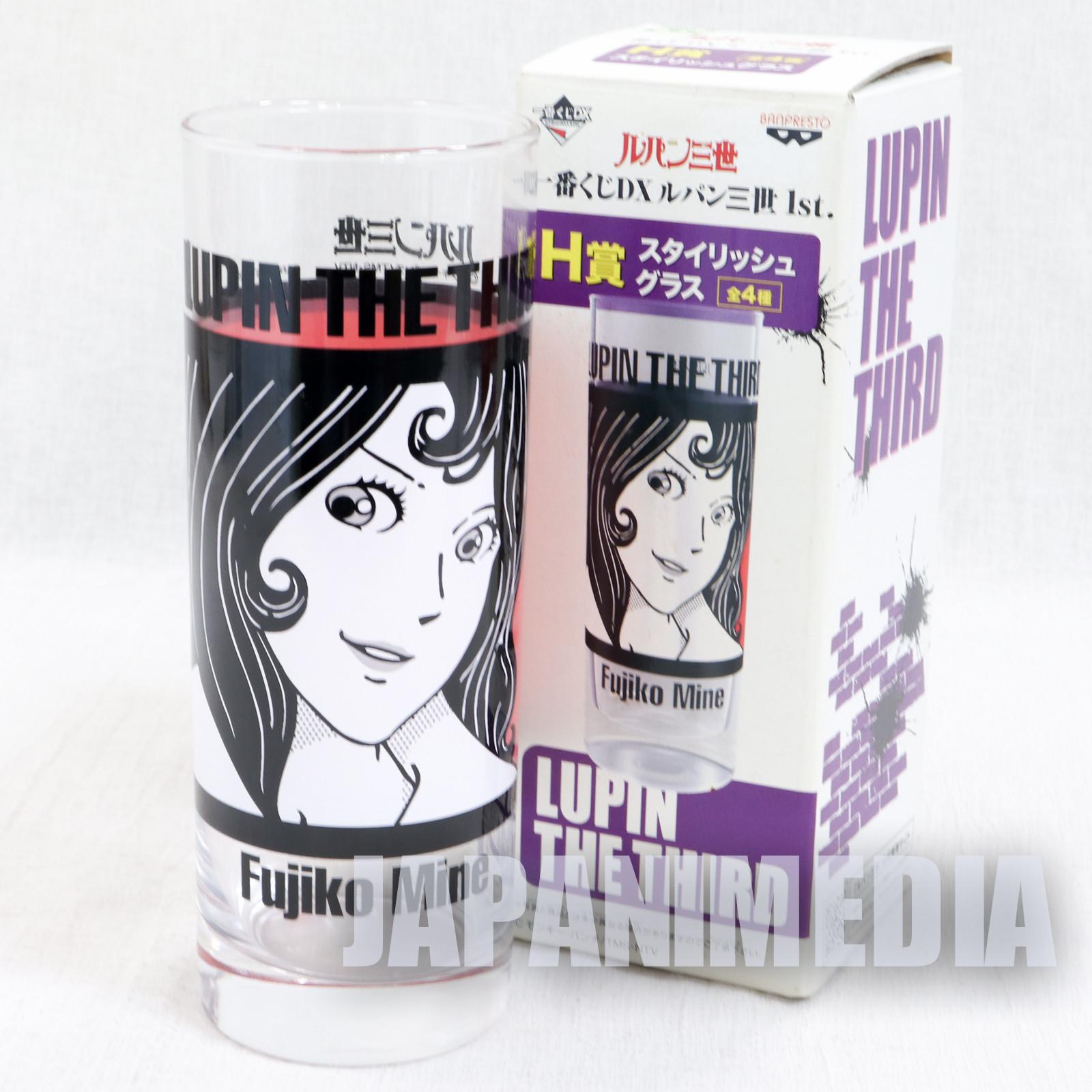 Lupin the Third (3rd) Stylish Glass Fujiko Mine Ver. Banpresto JAPAN ANIME MANGA