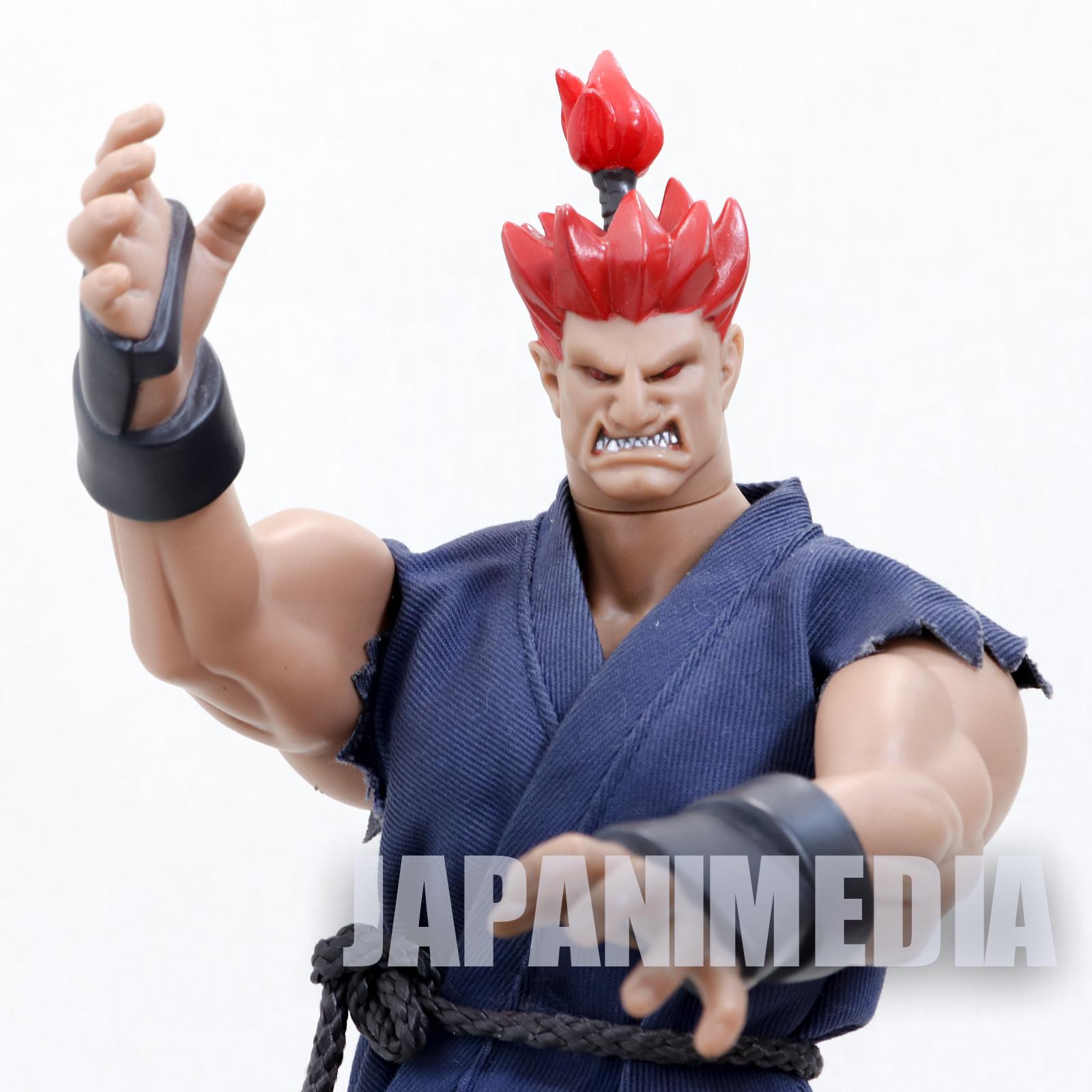 "RARE! Street Fighter 2 Akuma Gouki 12"" Action Figure JAPAN GAME"