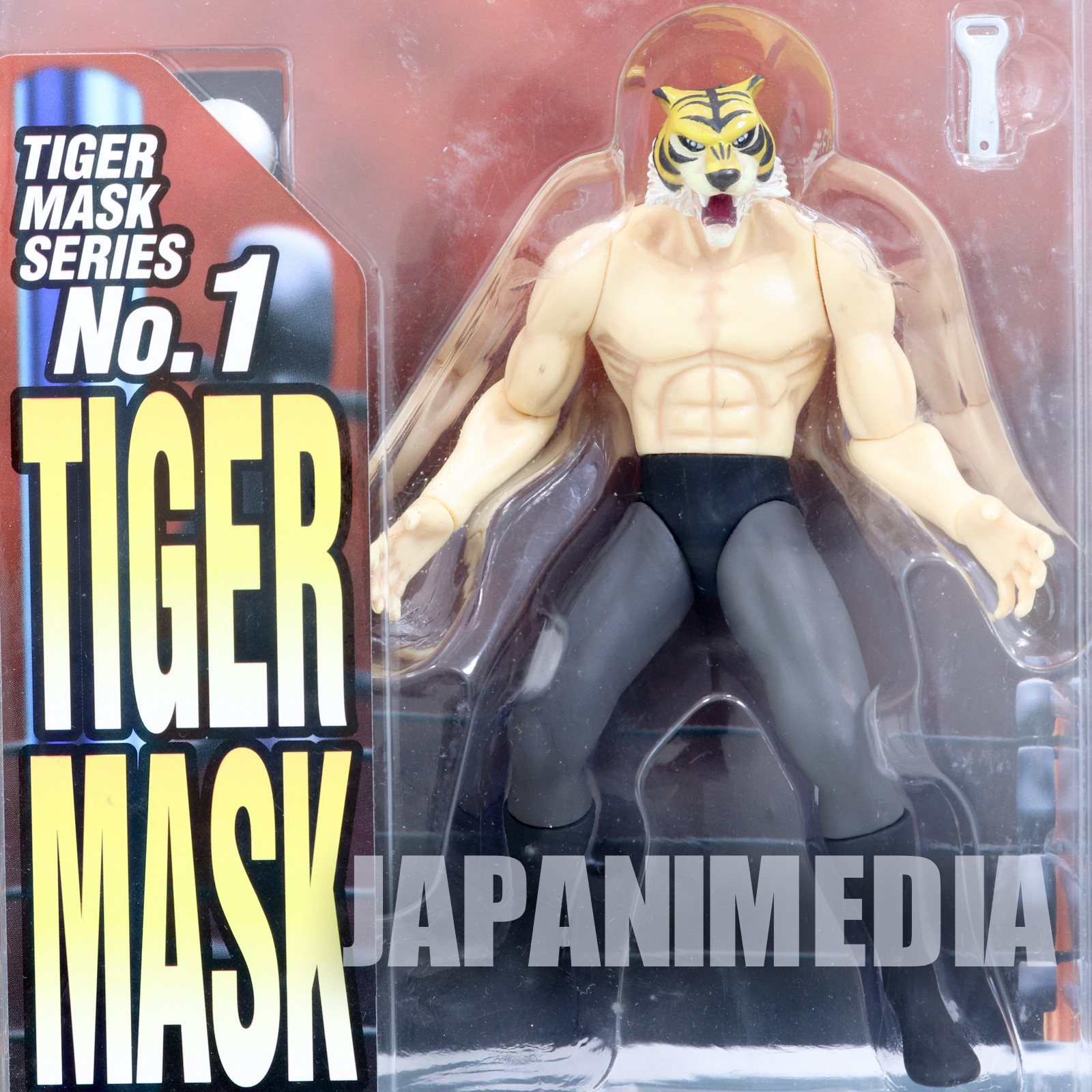 Tiger Mask Violence Action Figure XEBEC Toys JAPAN ANIME MANGA Pro Wrestling