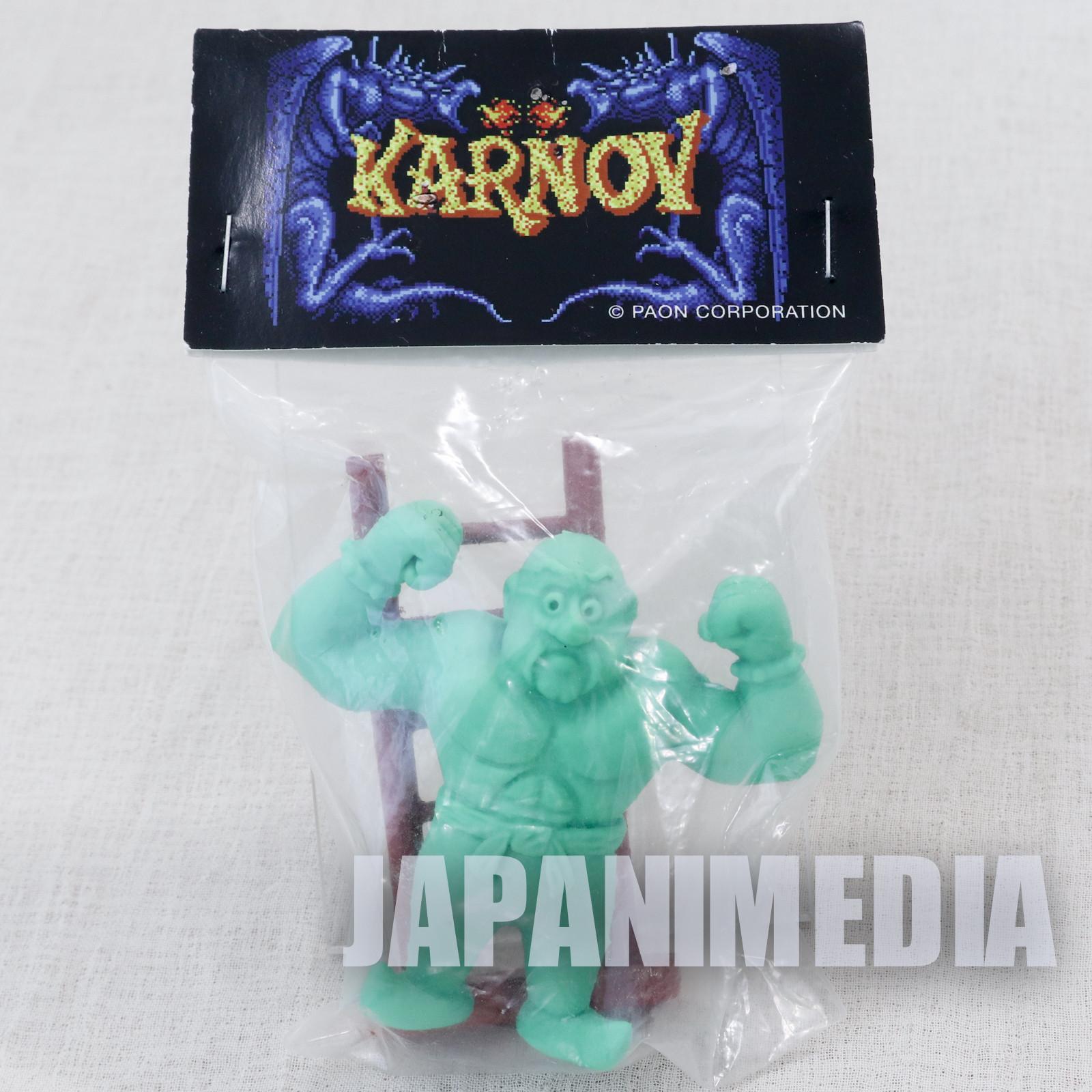 RARE! Karnov Rubber Figure Model Kit Wonder Festival JAPAN NES FAMICOM