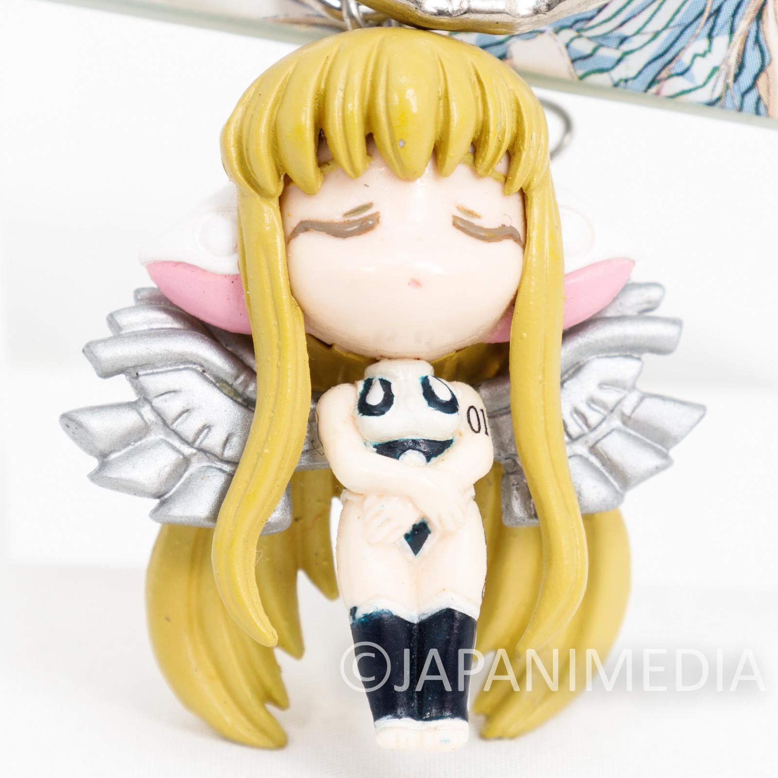 Chobits Chii Figure Keychain CLAMP JAPAN ANIME MANGA