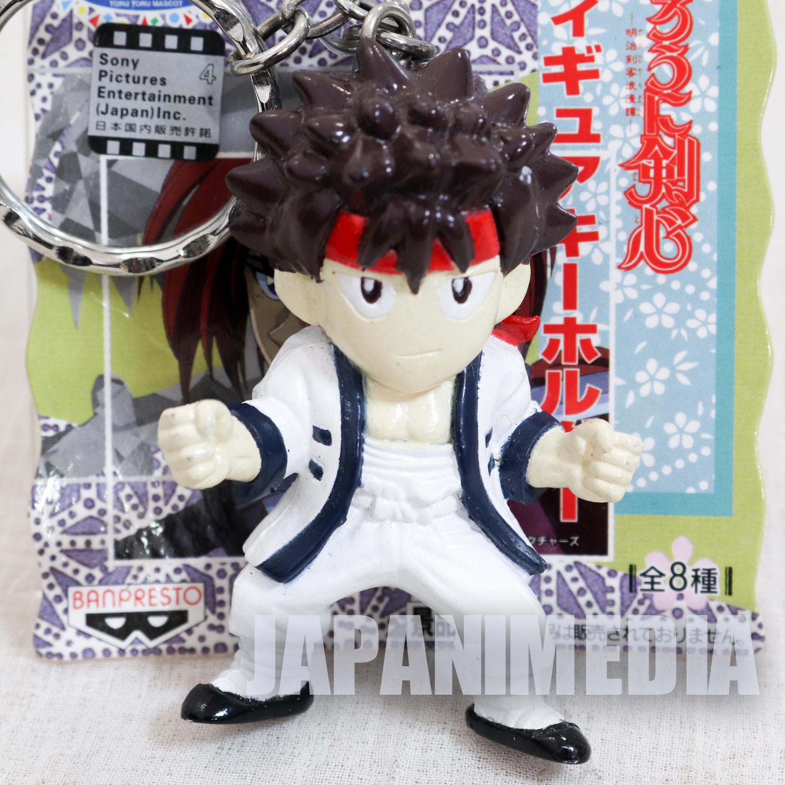 Rurouni Kenshin Sanosuke Sagara Figure Keychain JAPAN ANIME MANGA