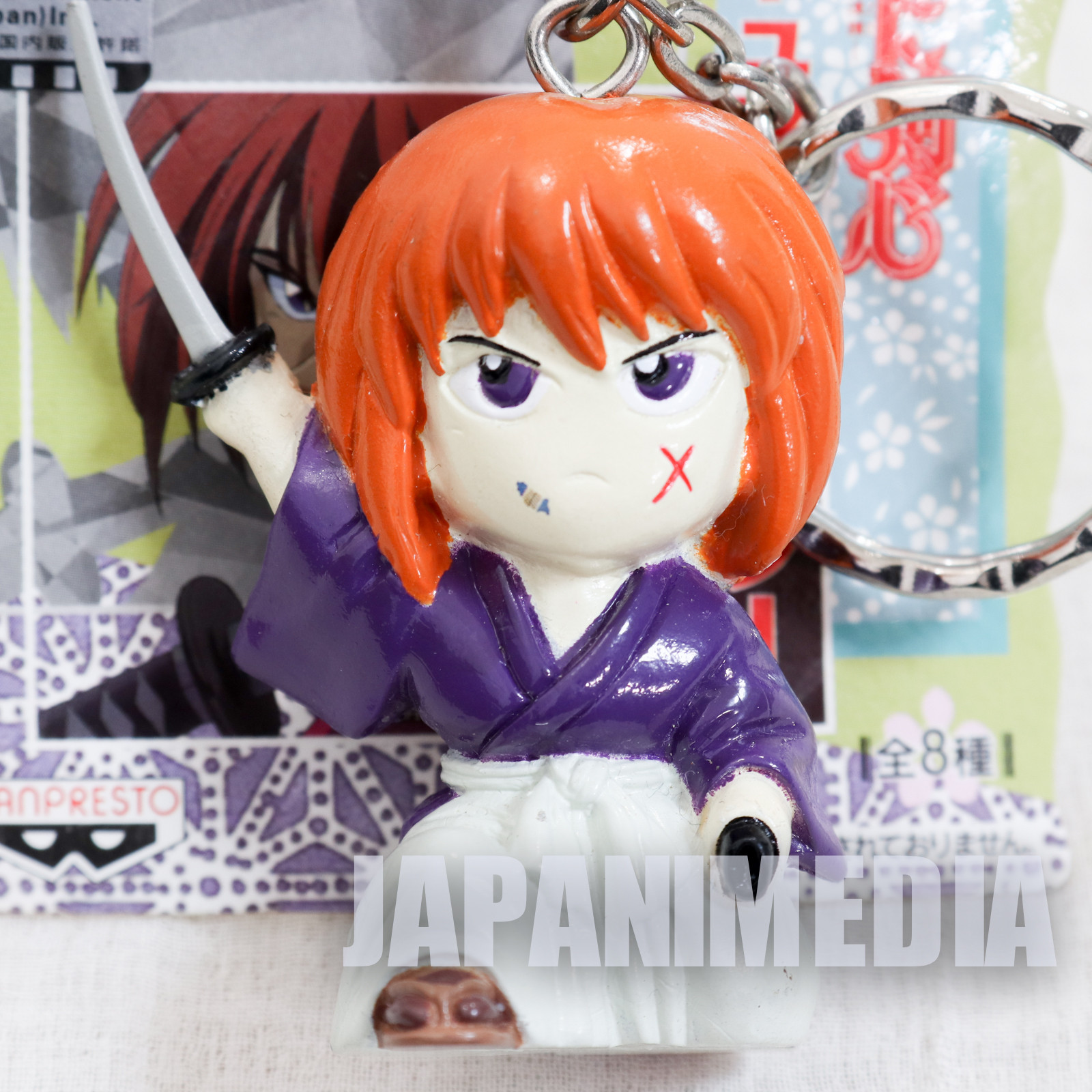 Rurouni Kenshin Himura Kenshin Figure Keychain JAPAN ANIME MANGA 2