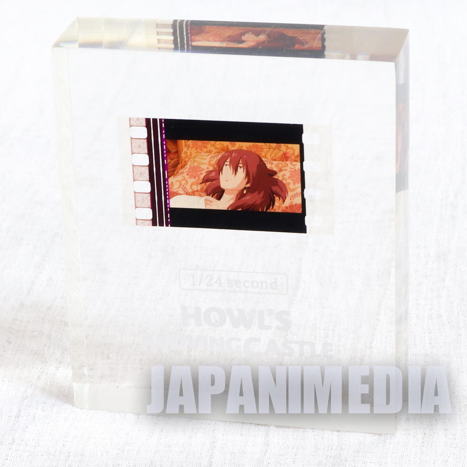 Howl's Moving Castle 1/24 Second Film Crystal Cube Howl Black Hair Ghibli JAPAN