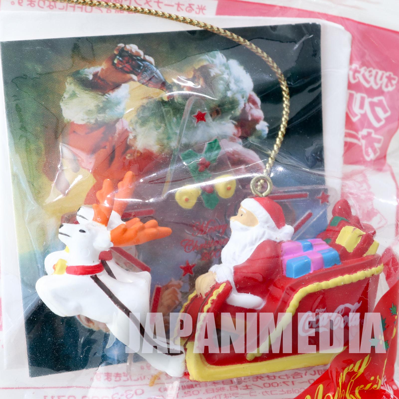 Coca-Cola Christmas Ornament Miniature Figure Kaiyodo JAPAN 1