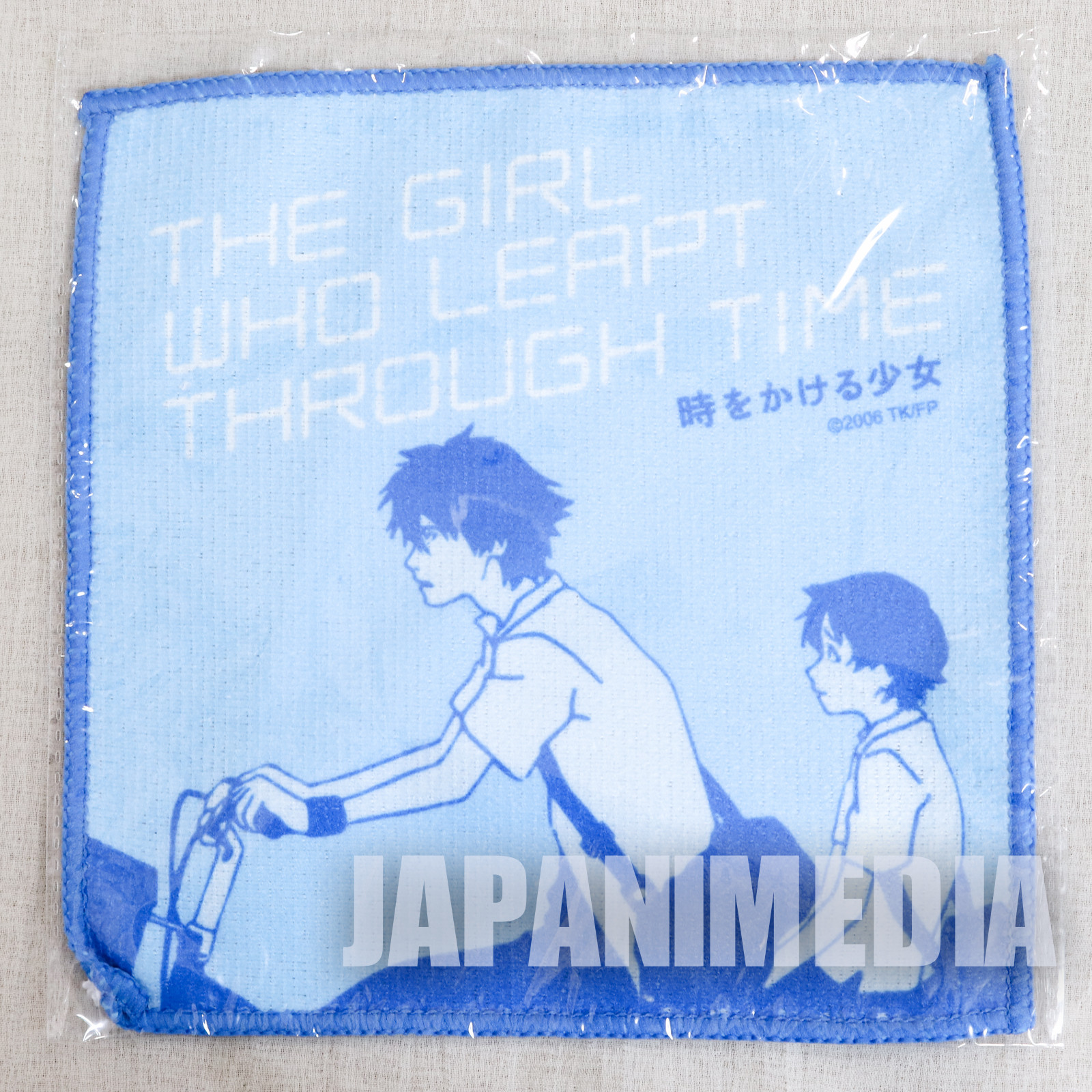 The Girl who Leapt Through Time Makoto Konno Hand Towel 7x7 inch JAPAN ANIME