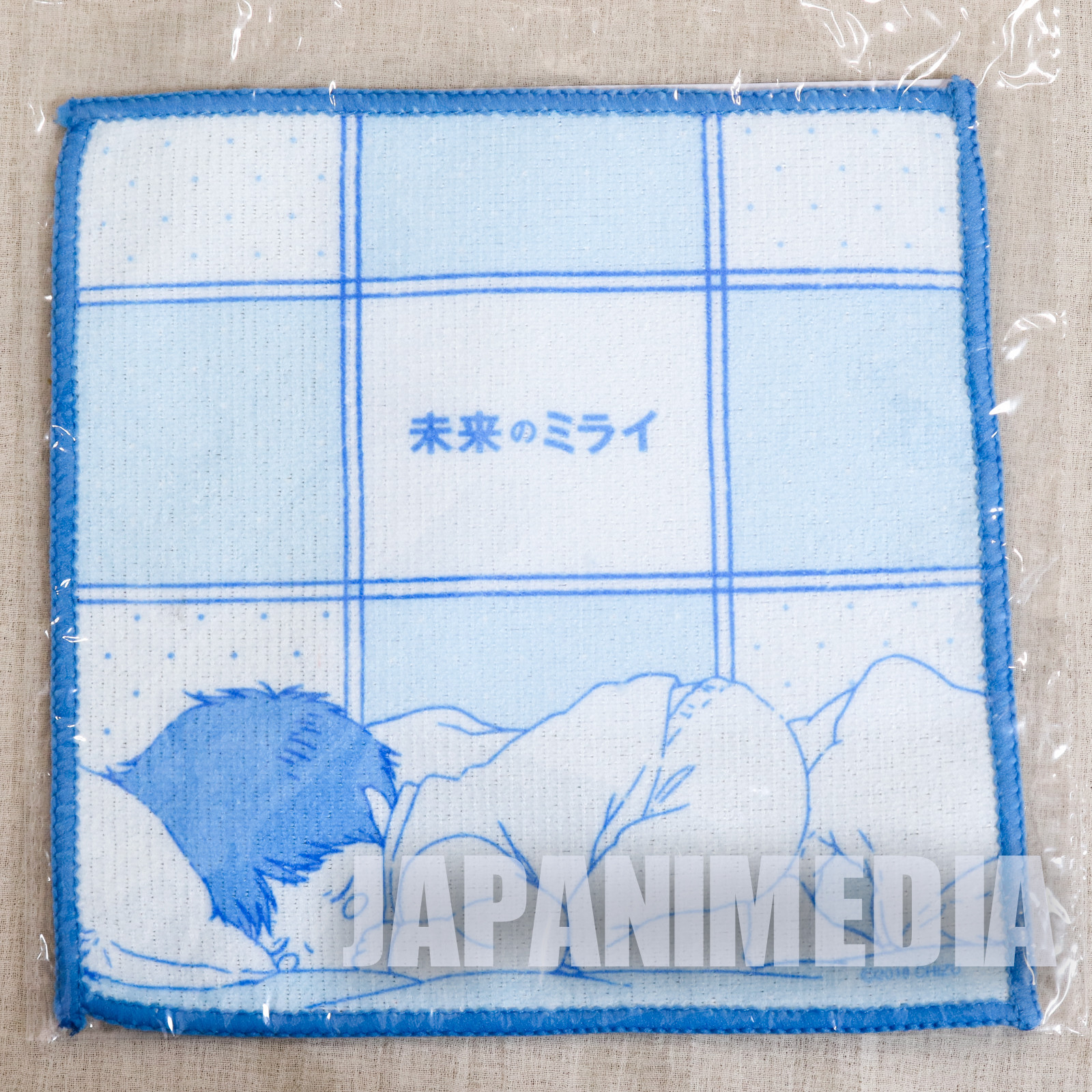 Mirai no Mirai Hand Towel 7x7 inch JAPAN ANIME