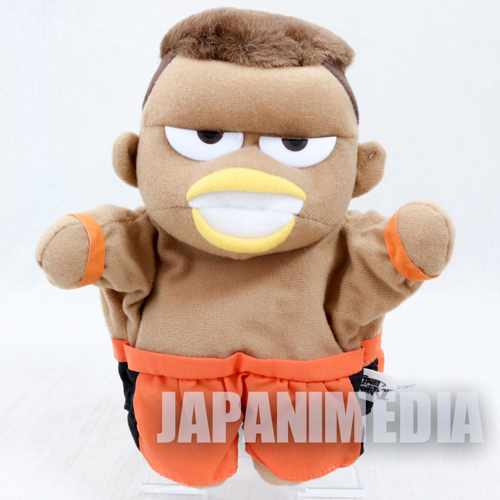 Street Fighter 2 Dee Jay Hand Puppet Plush Doll Capcom Character JAPAN GAME