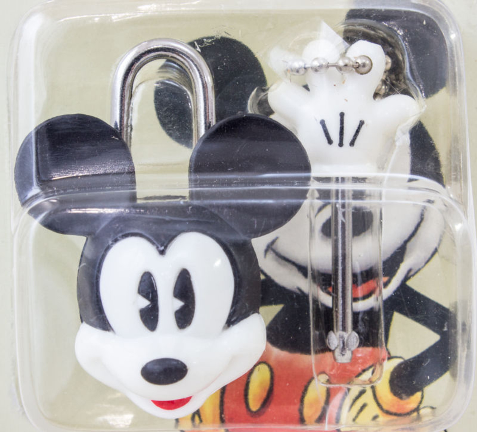 Disney Mickey Mouse Mascot type Padlock JAPAN ANIME FIGURE