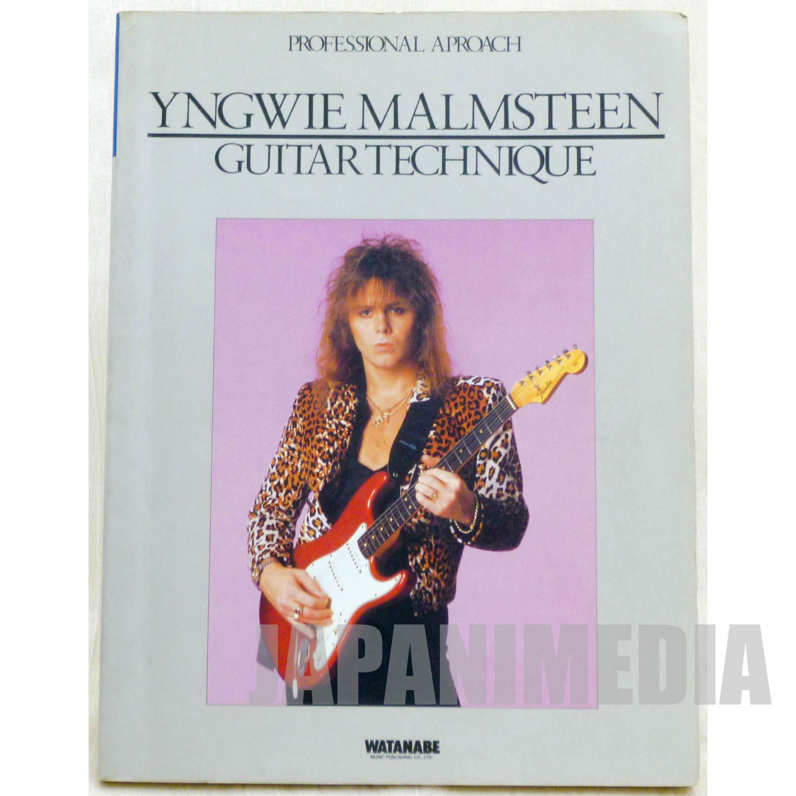 Yngwie Malmsteen Guitar Technique Guitar TAB Score