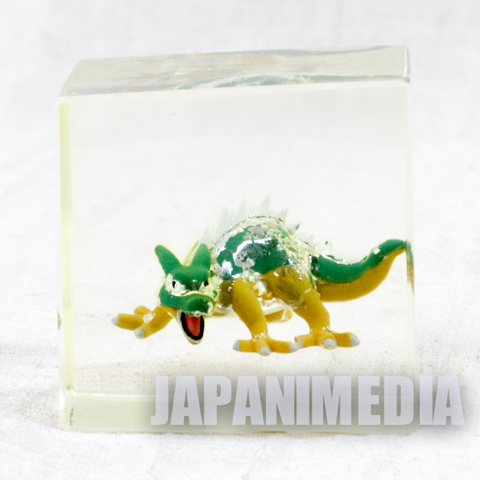 Dragon Quest Green Dragon Crystal Monsters Cube Type Figure Square Enix