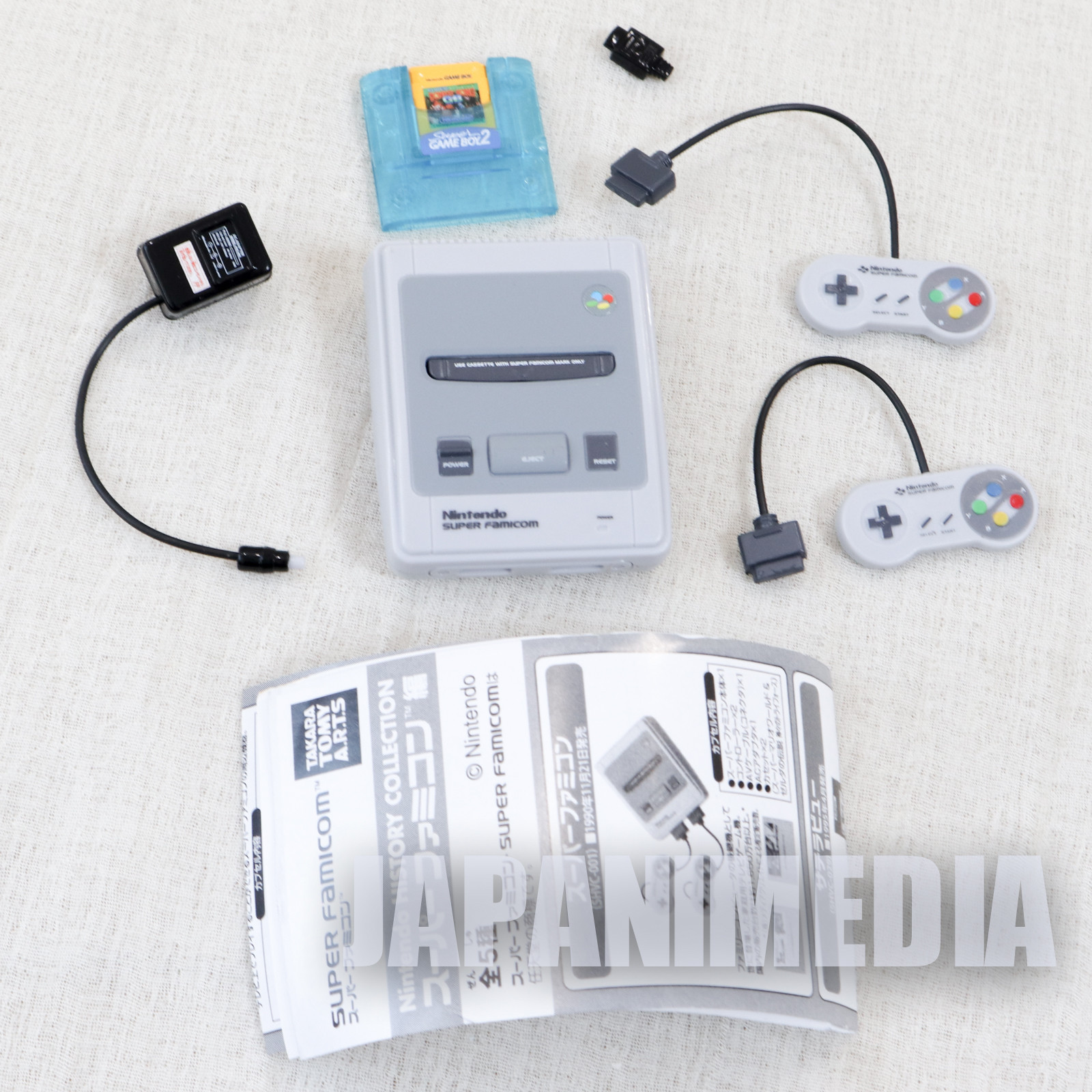 Nintendo History Collection Figure Super Famicom & Super Gameboy2 SNES
