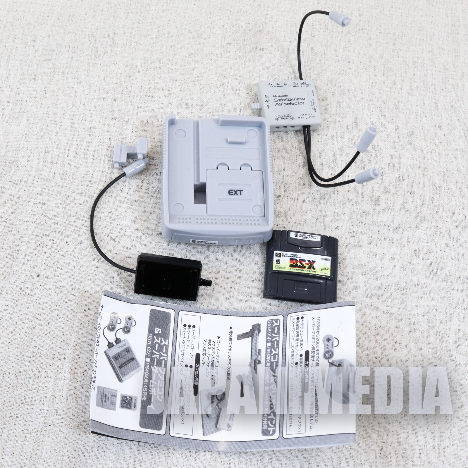 Nintendo History Collection Figure Satellaview SNES