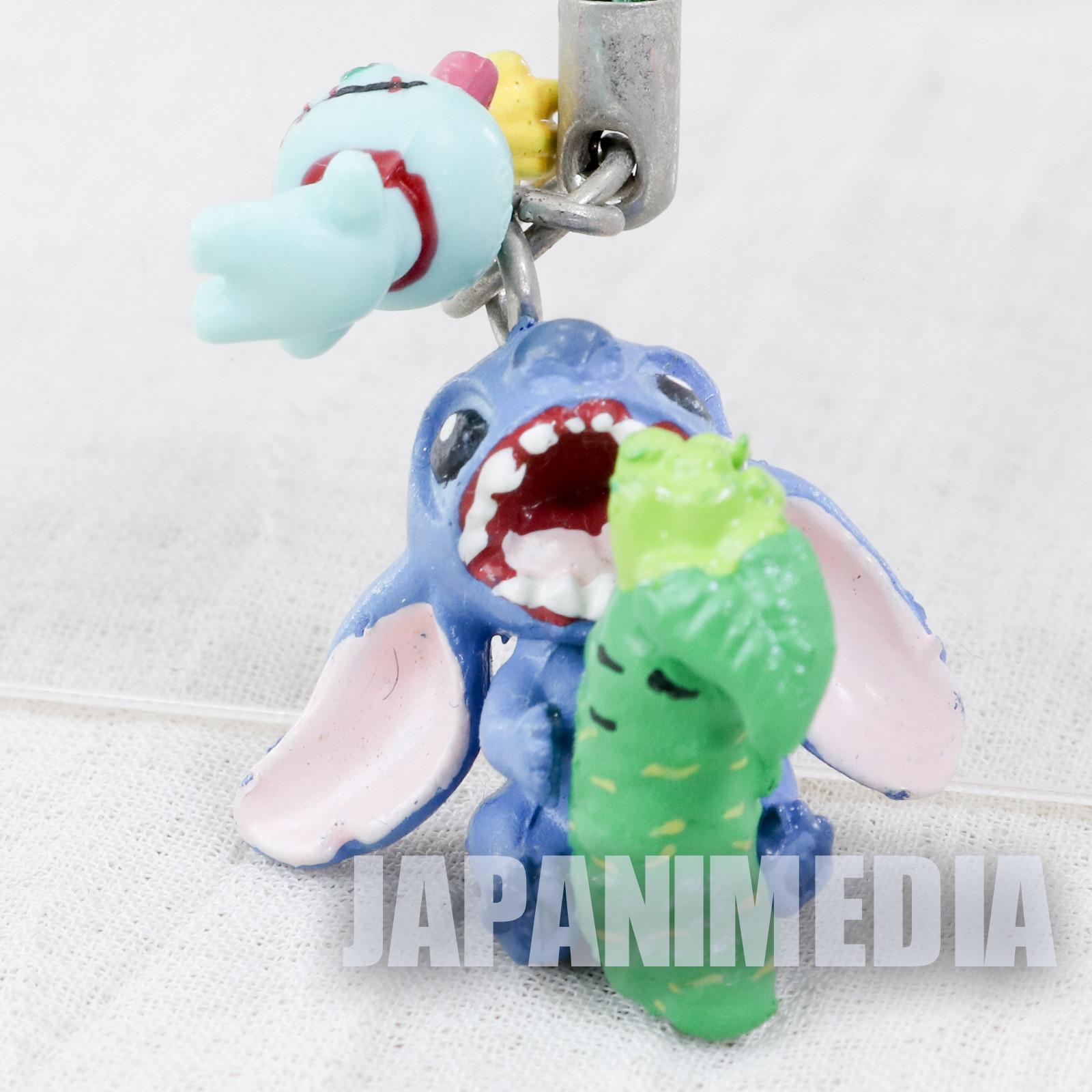Disney Stitch Mascot Figure Strap Wasabi no Sato ver. JAPAN ANIME