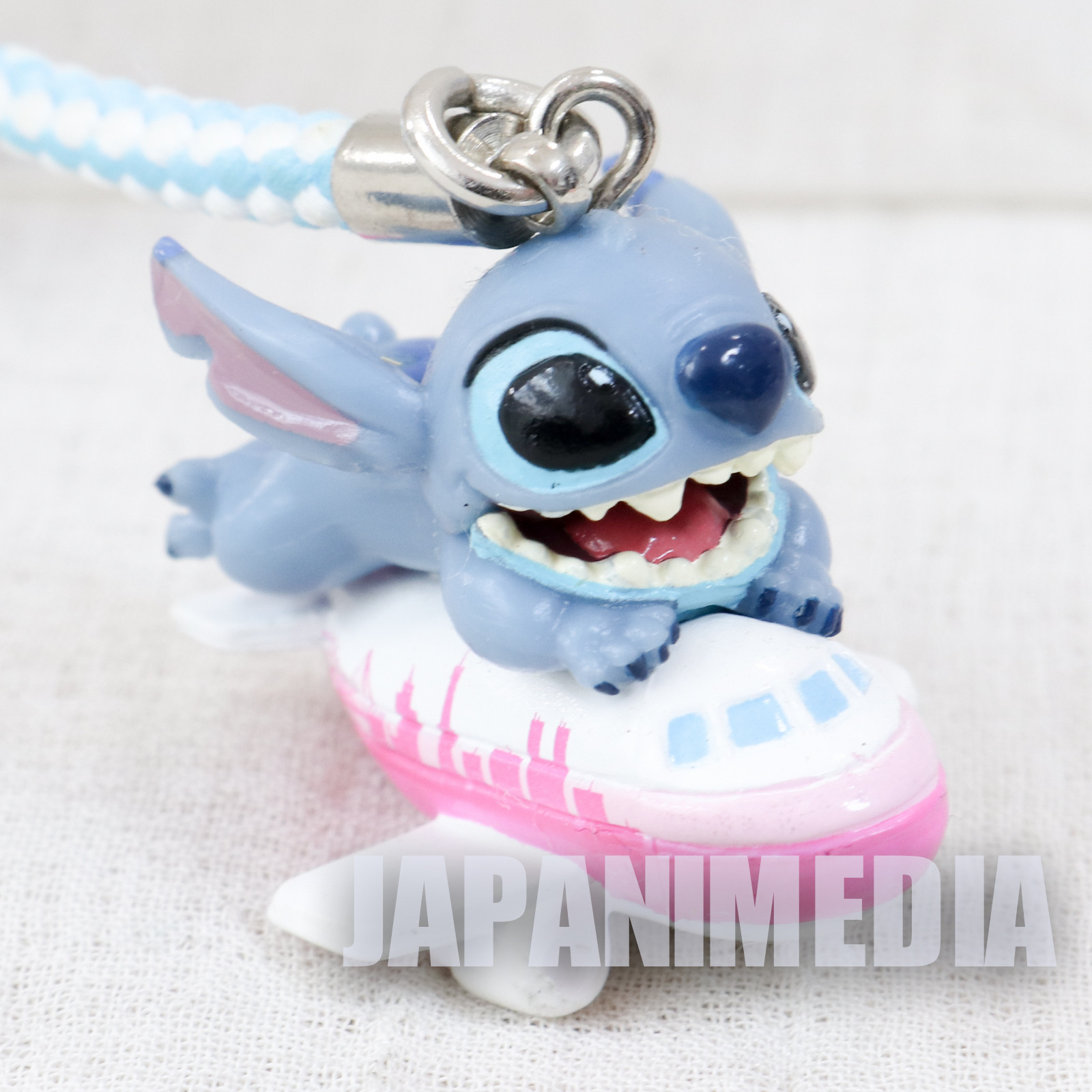 Disney Stitch Mascot Figure Strap Airport Exclusive Haneda ver. JAPAN ANIME